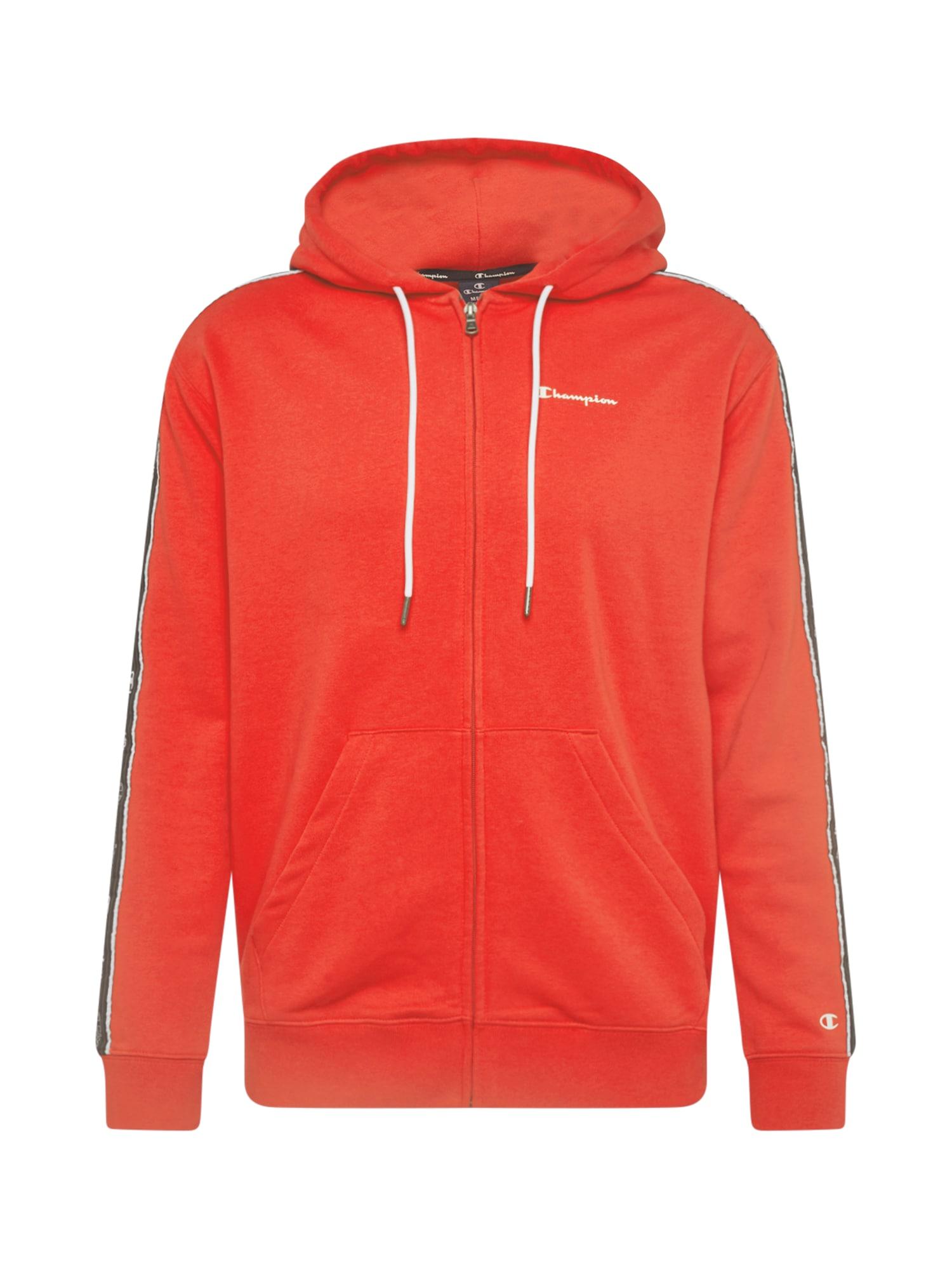 Champion Authentic Athletic Apparel Džemperis ryškiai raudona / balta / juoda / tamsiai pilka