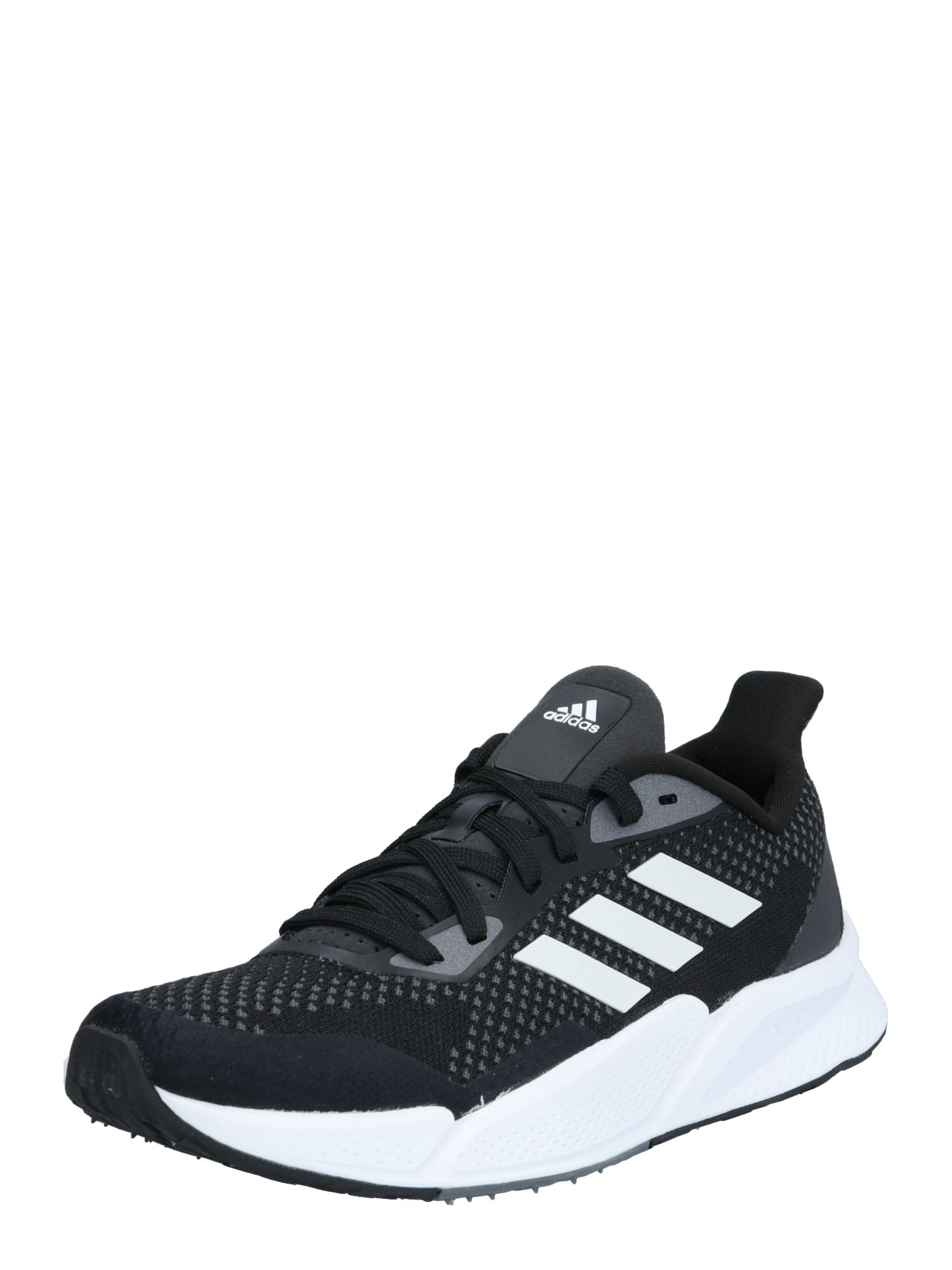 ADIDAS PERFORMANCE Bėgimo batai juoda / balta