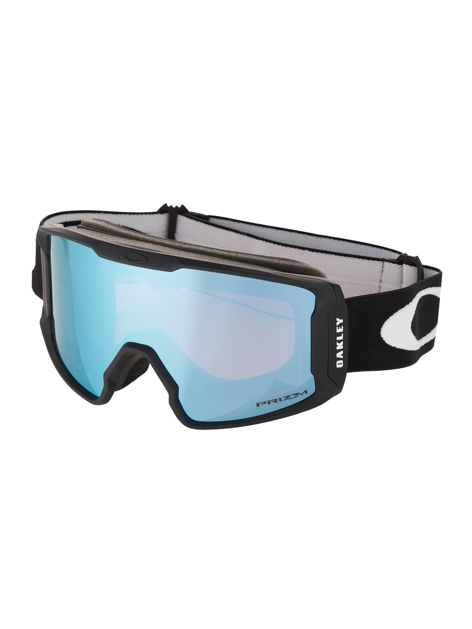OAKLEY Sportiniai akiniai 'Line Miner' safyro / juoda