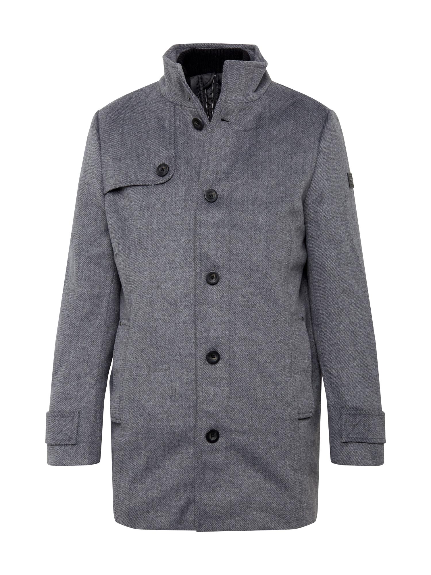 TOM TAILOR Přechodný kabát  šedá