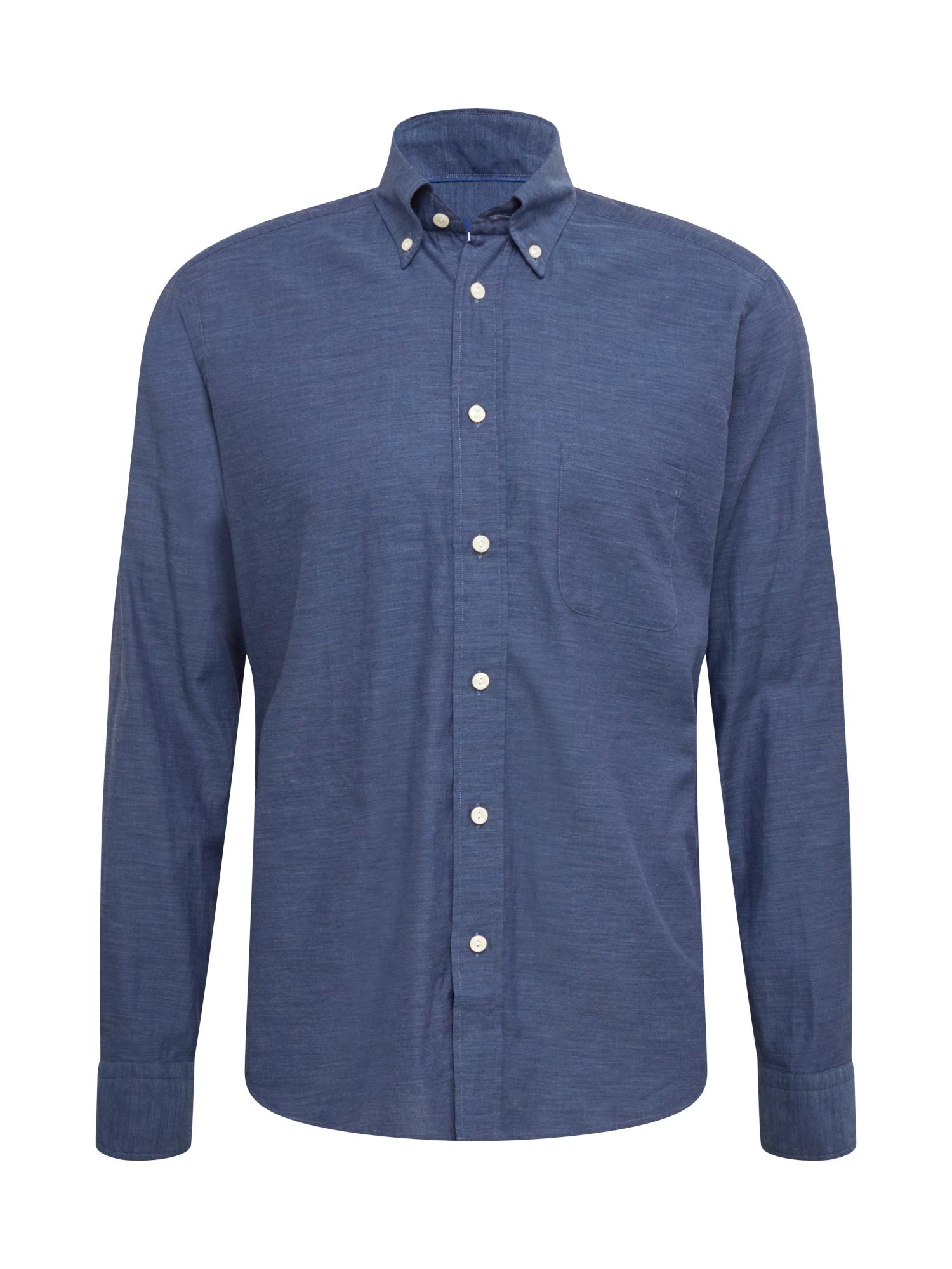 ETON Marškiniai tamsiai mėlyna