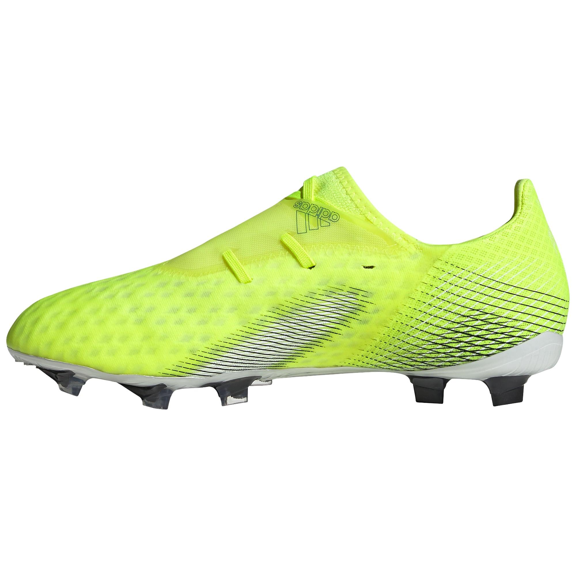 ADIDAS PERFORMANCE Futbolo bateliai neoninė geltona / juoda