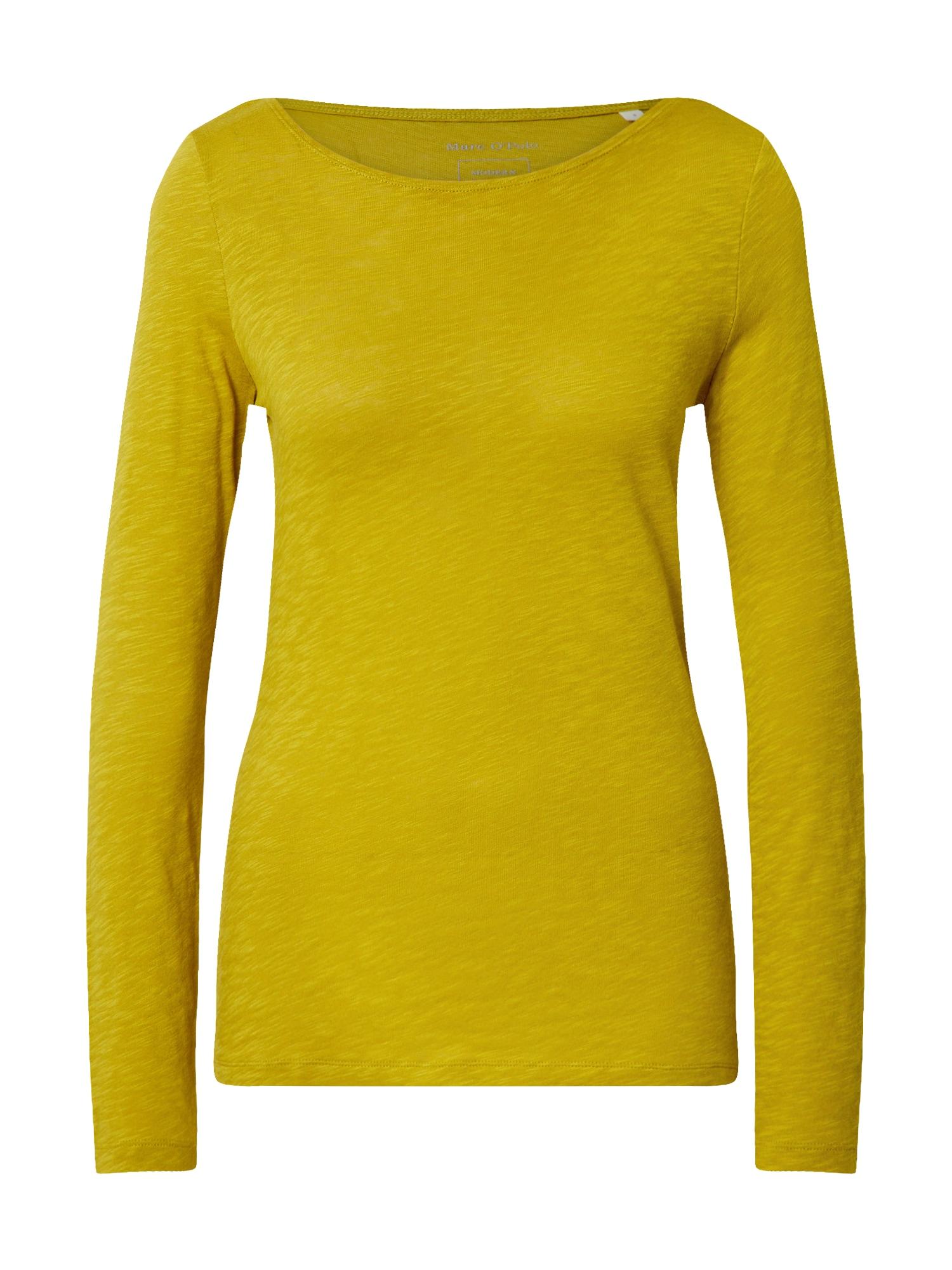 Marc O'Polo Tričko  tmavě žlutá