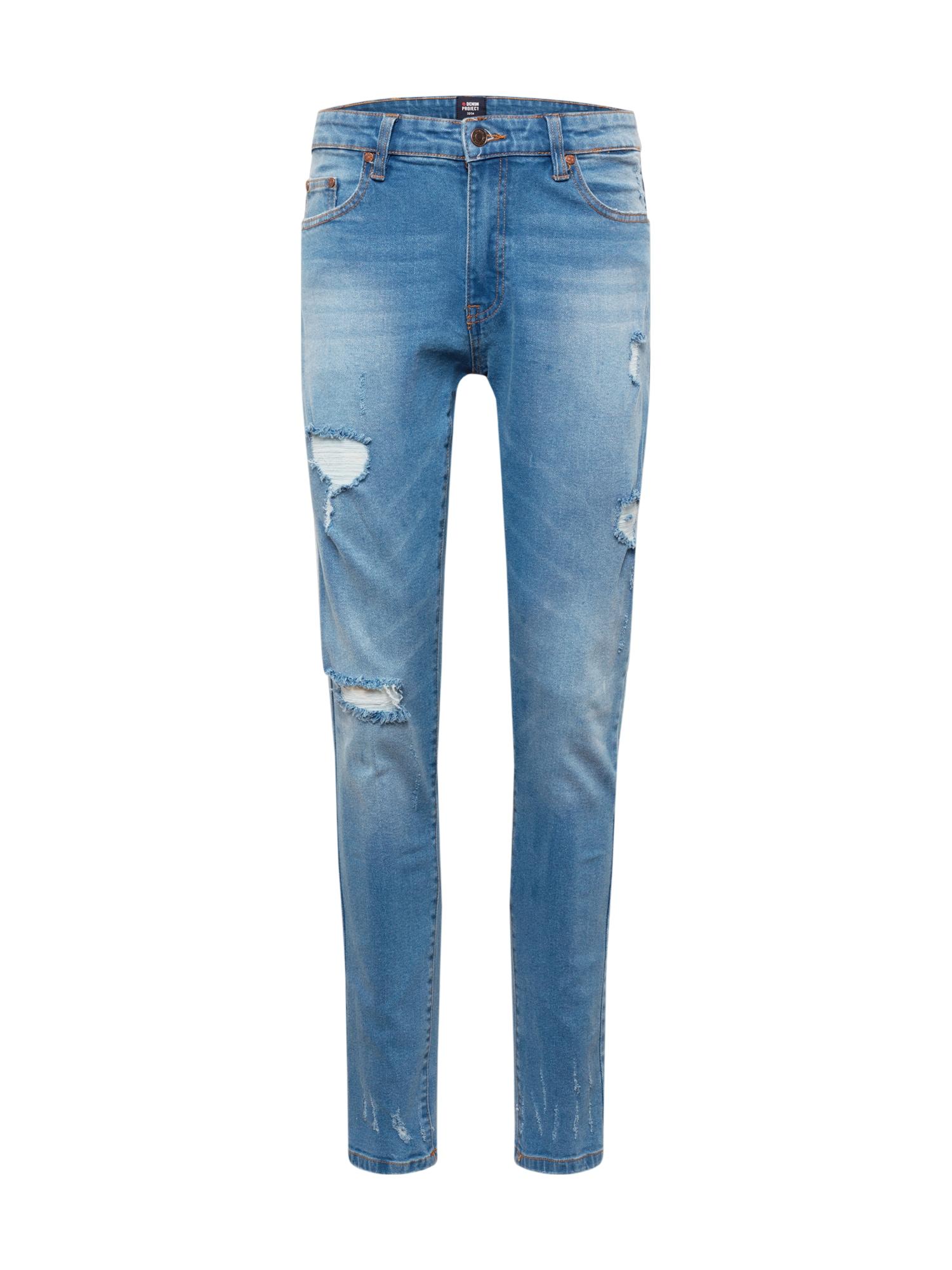 Denim Project Džinsai tamsiai (džinso) mėlyna