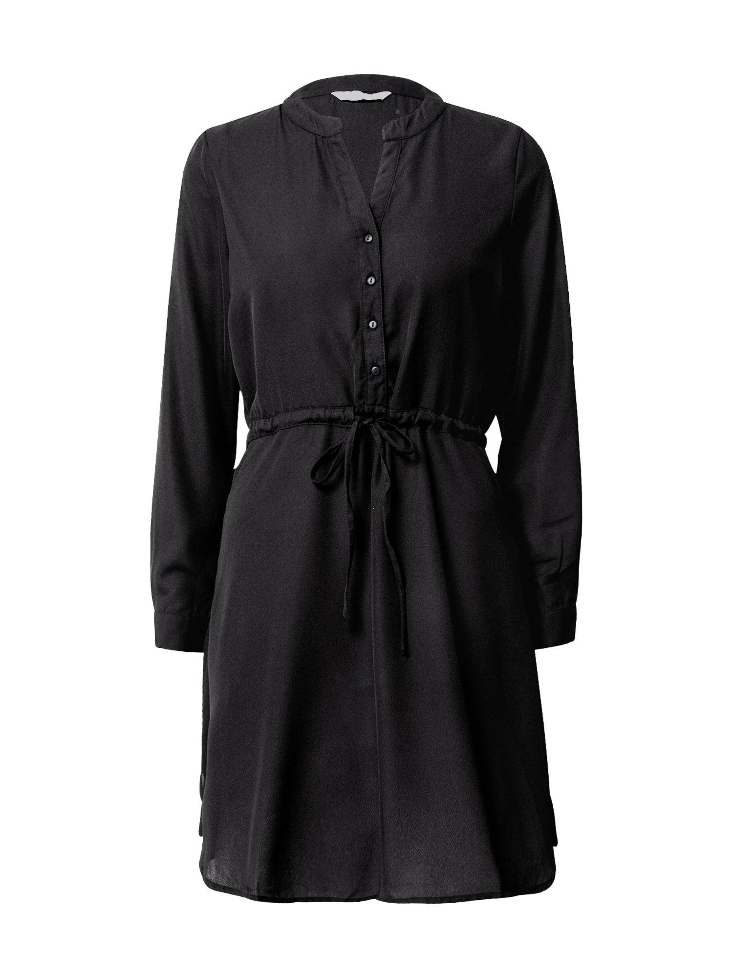 ONLY Košilové šaty 'Cory'  černá