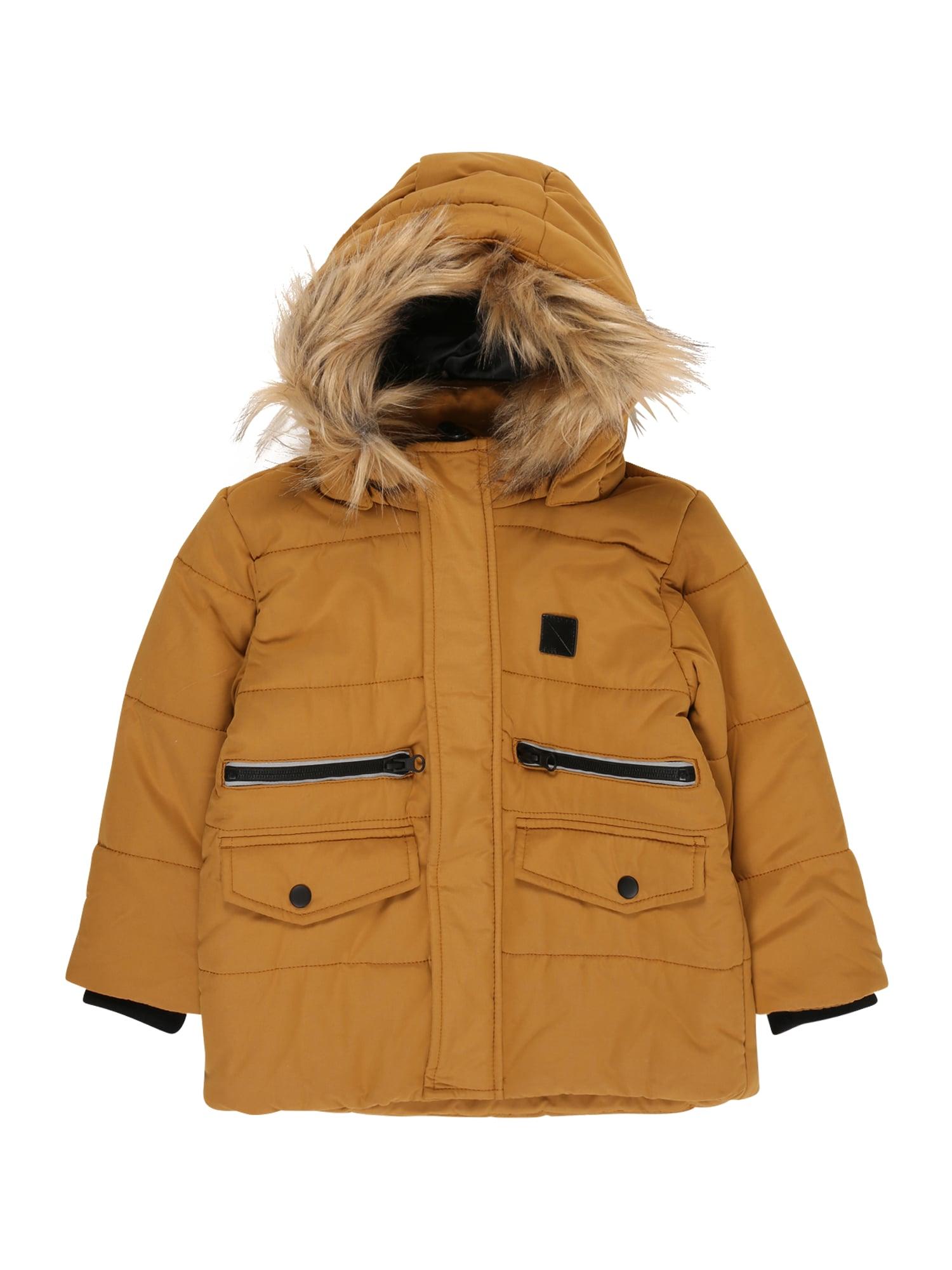 NAME IT Zimná bunda  bronzová