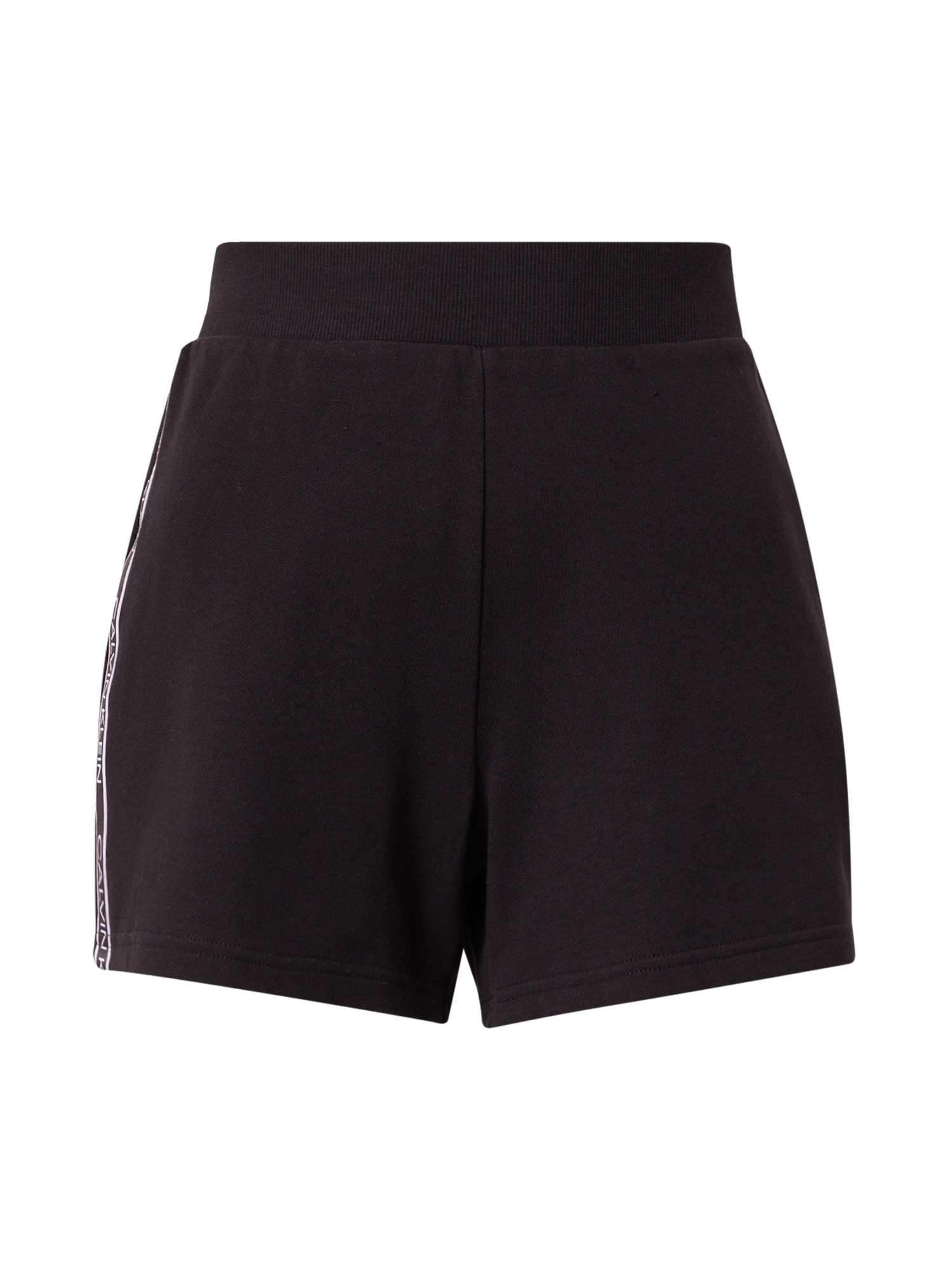 Calvin Klein Performance Sportinės kelnės juoda / balta