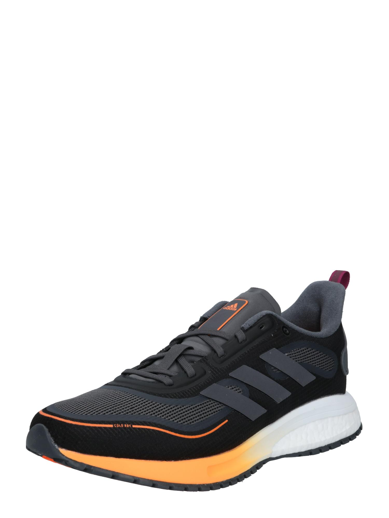 ADIDAS PERFORMANCE Běžecká obuv 'Supernova'  černá / oranžová / bílá / šedá