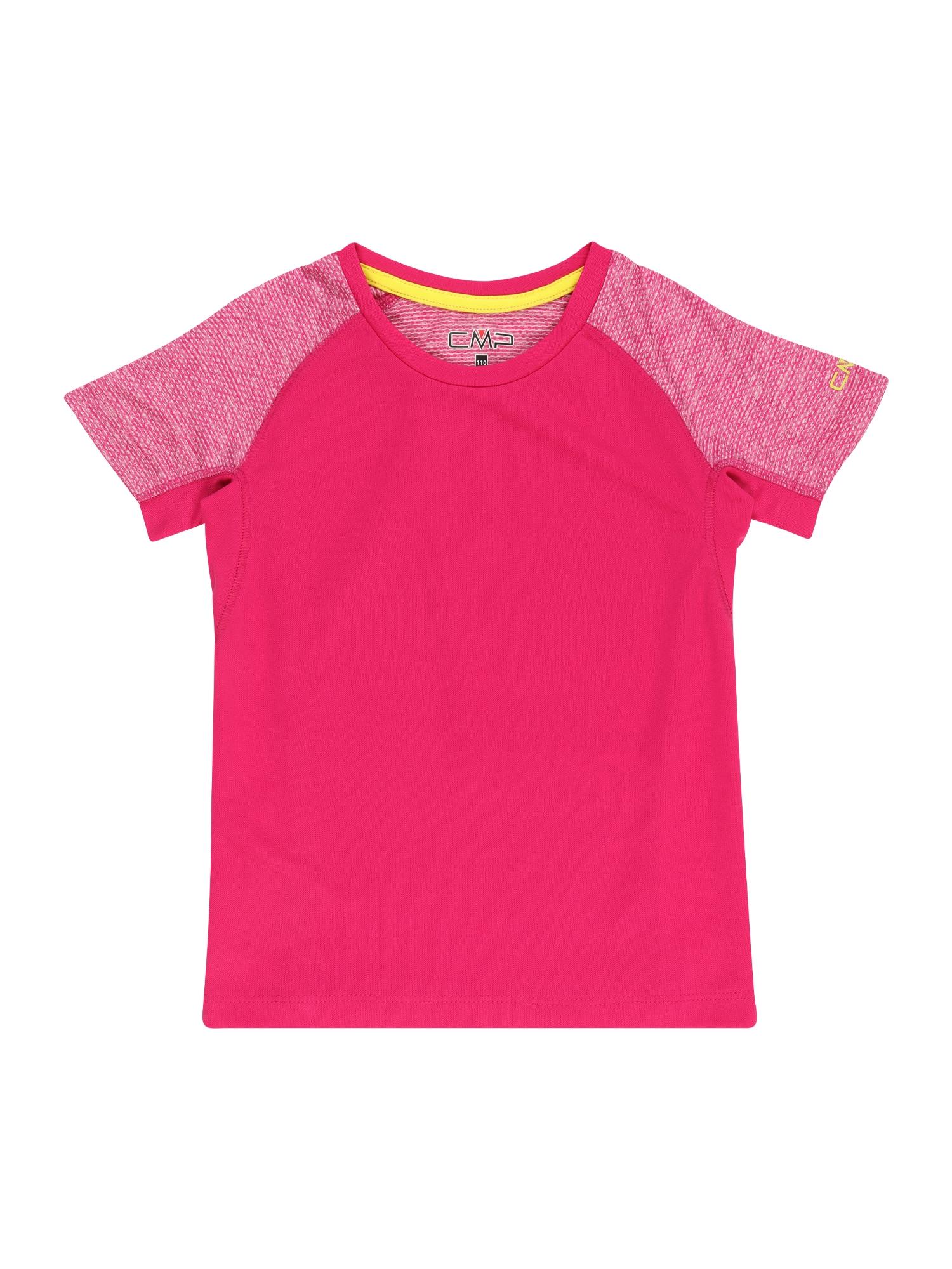 CMP Sportiniai marškinėliai spanguolių spalva / balta