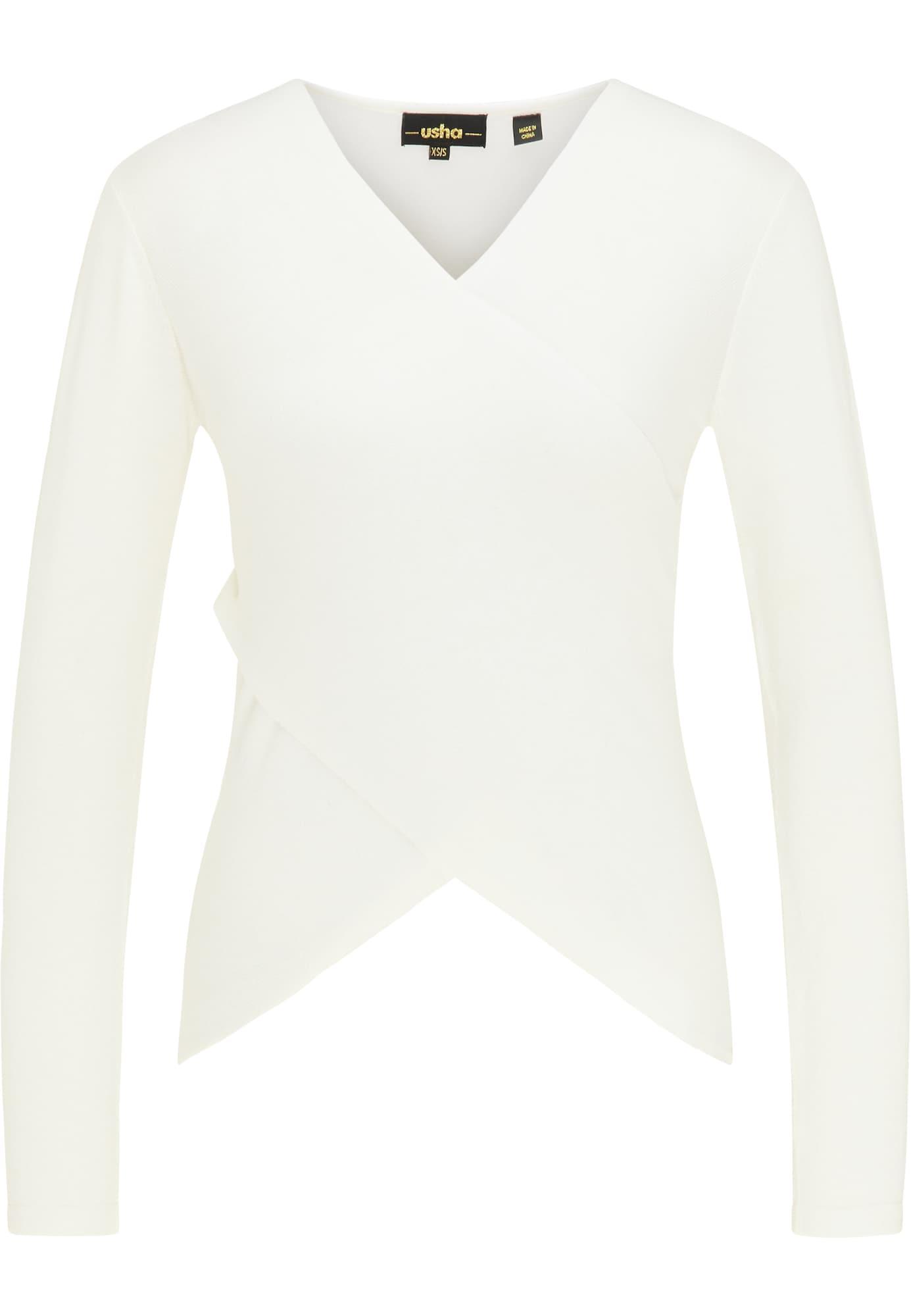 usha BLACK LABEL Megztinis balta
