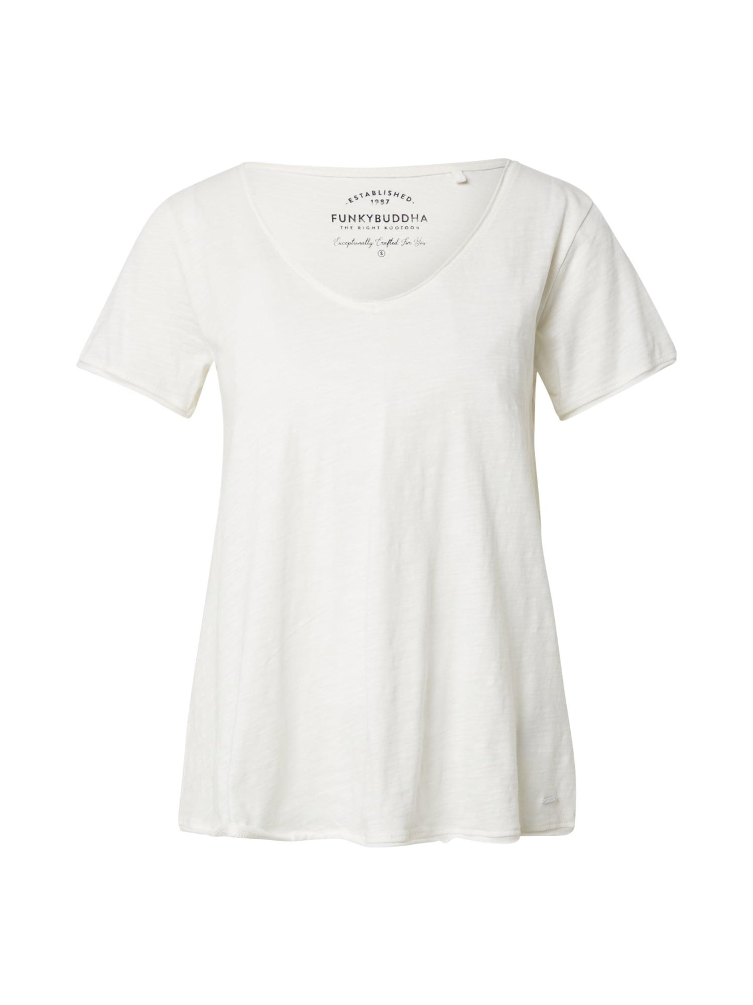 Funky Buddha Marškinėliai balta