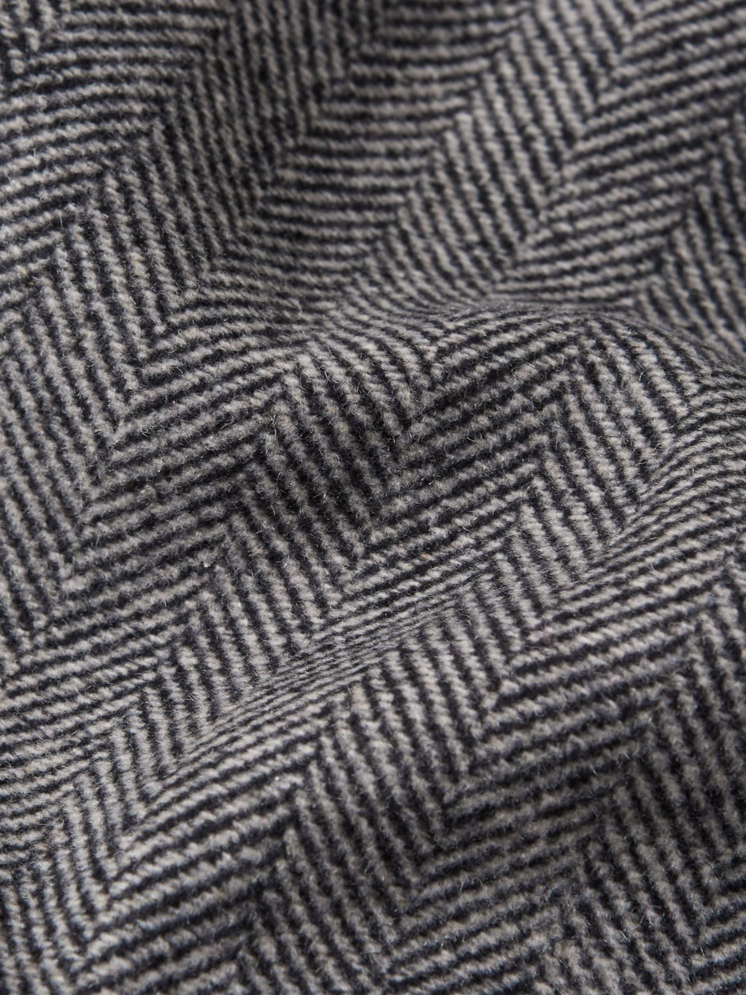 Abercrombie & Fitch Övergångskappa  svart / grå