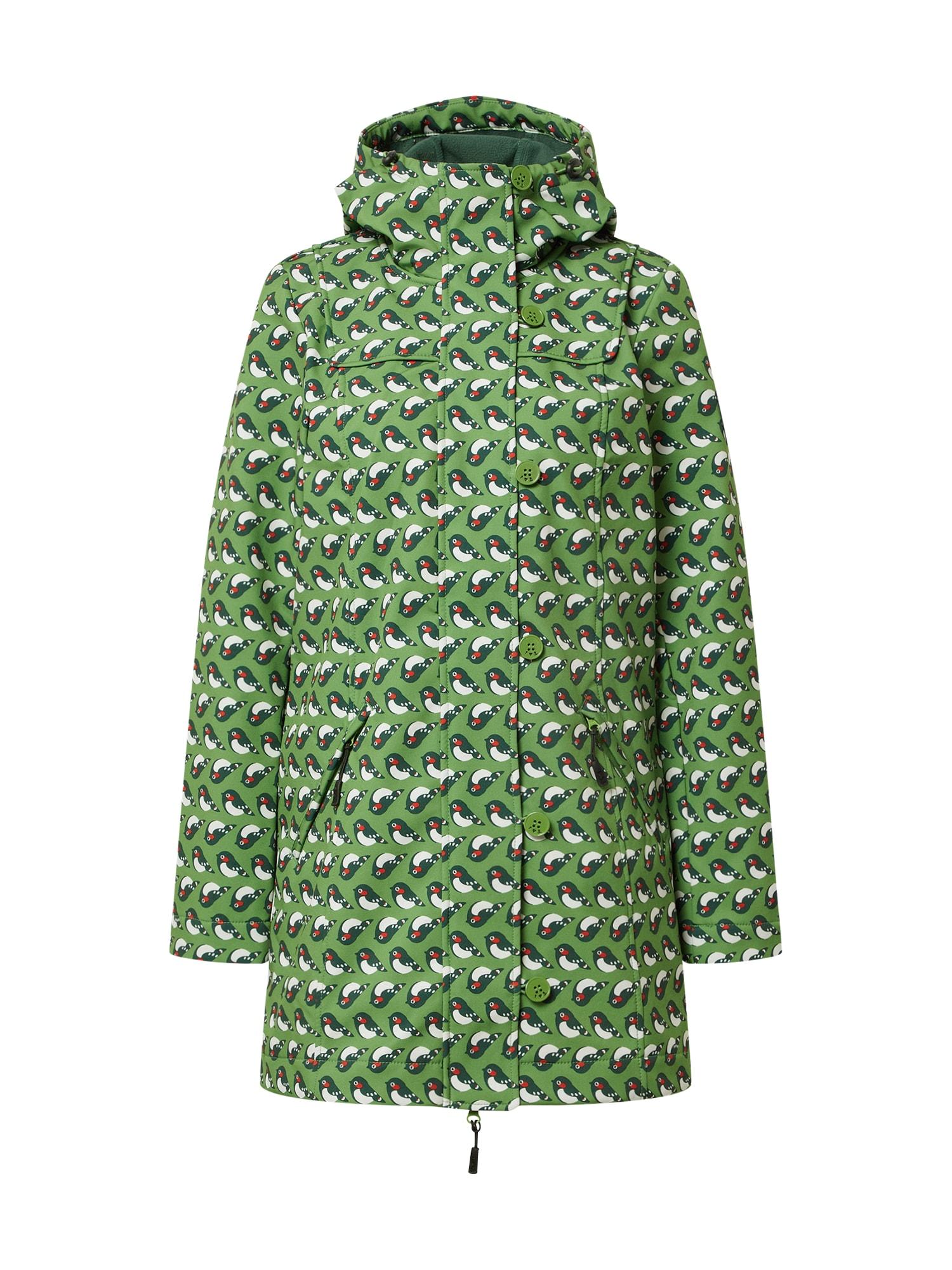 Blutsgeschwister Demisezoninis paltas žolės žalia / nakties mėlyna / raudona / balta