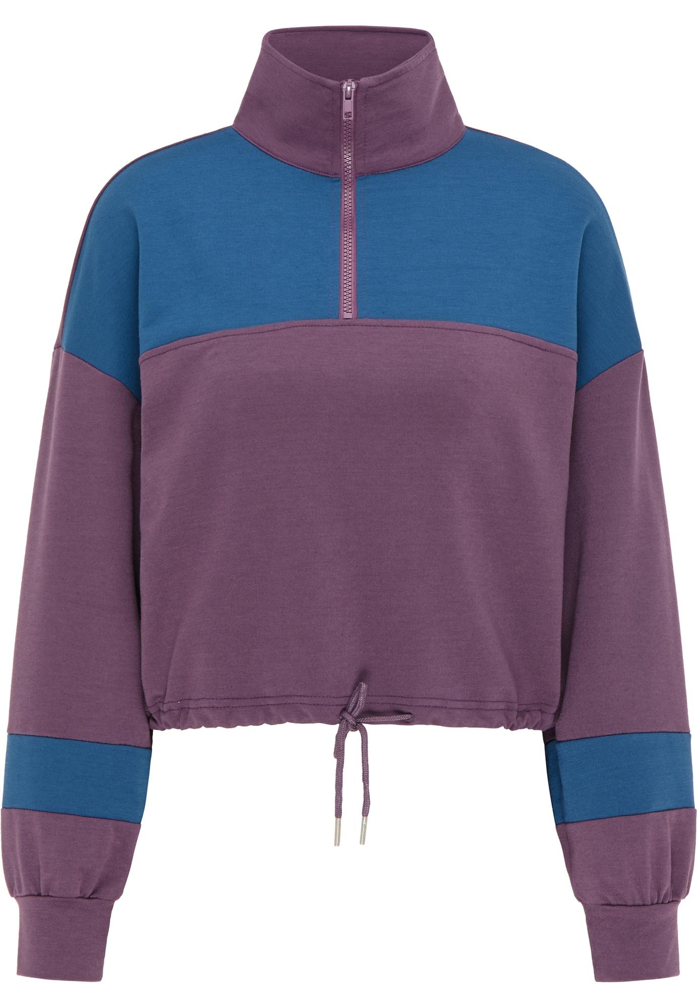 myMo ATHLSR Sportinio tipo megztinis šviesiai violetinė / mėlyna