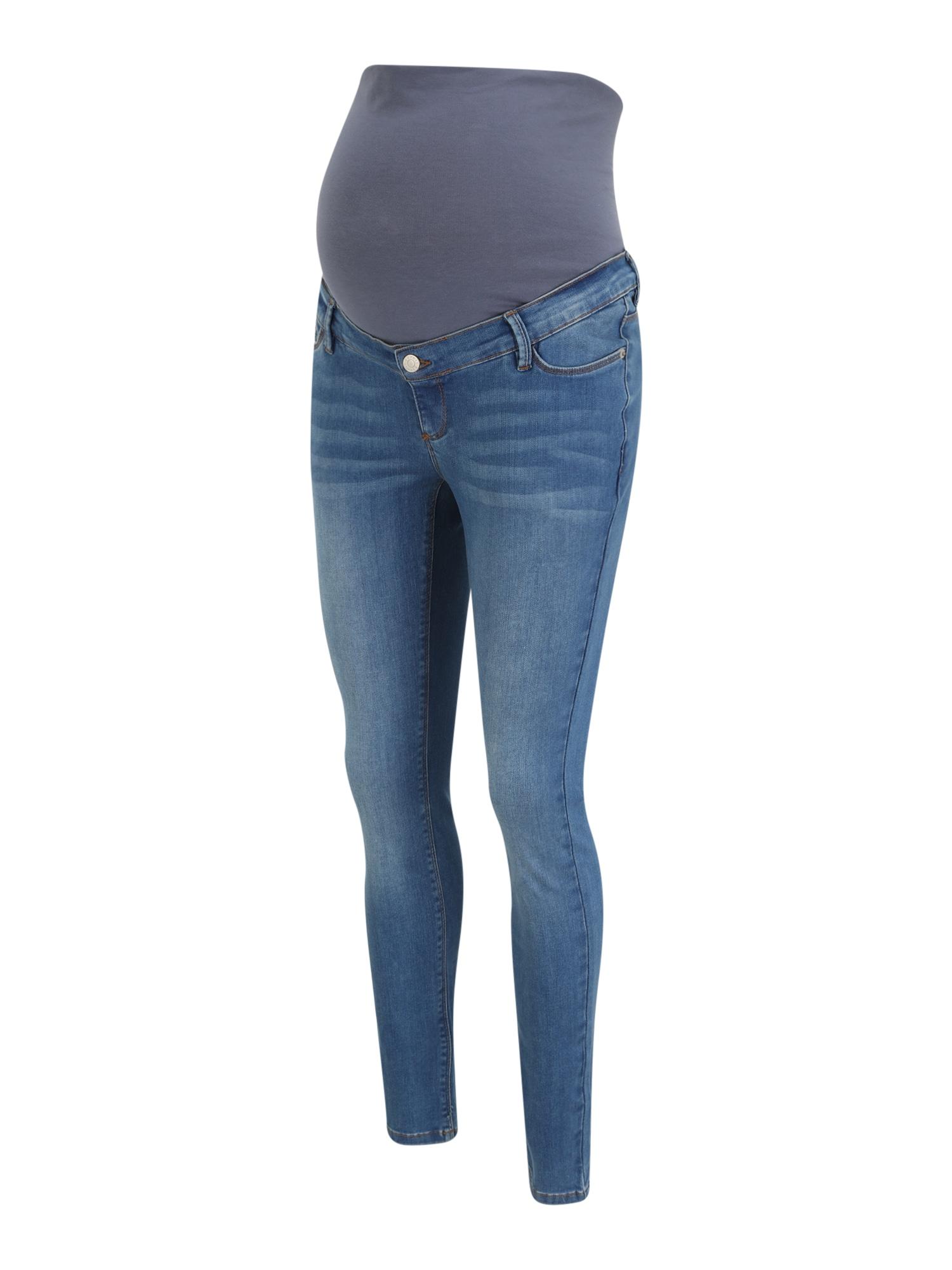Esprit Maternity Džinsai tamsiai (džinso) mėlyna / tamsiai pilka