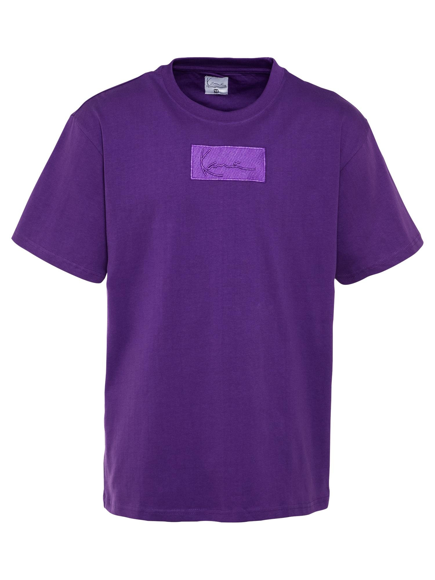 Karl Kani Marškinėliai tamsiai violetinė