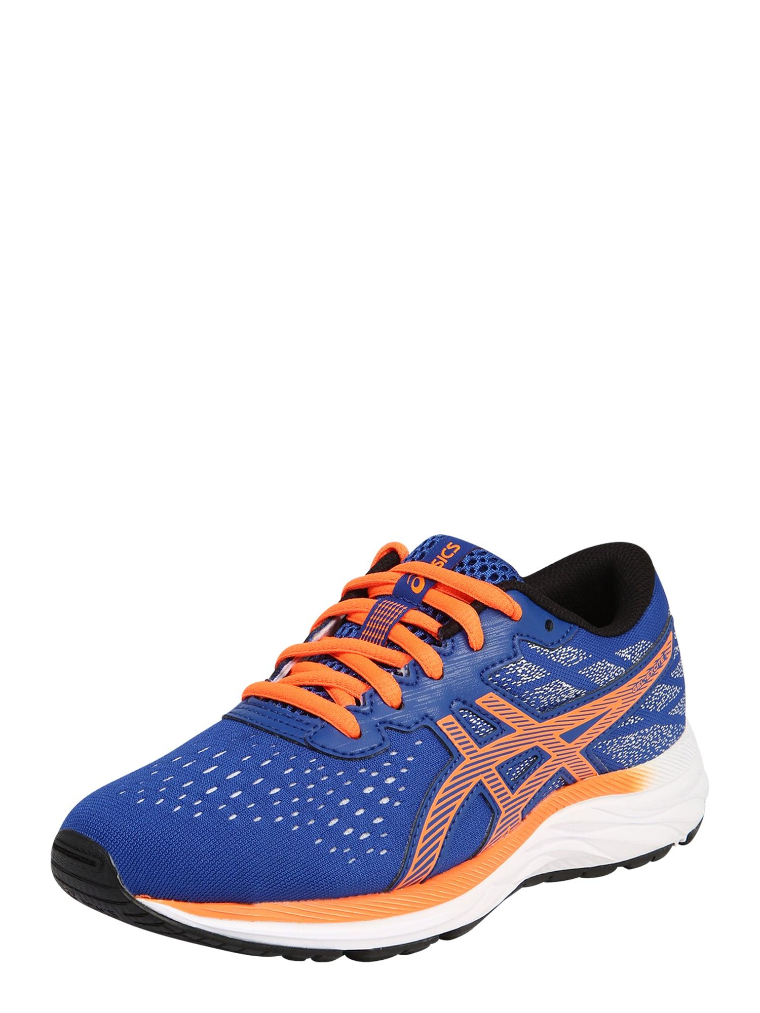 ASICS Sportiniai batai mėlyna / oranžinė