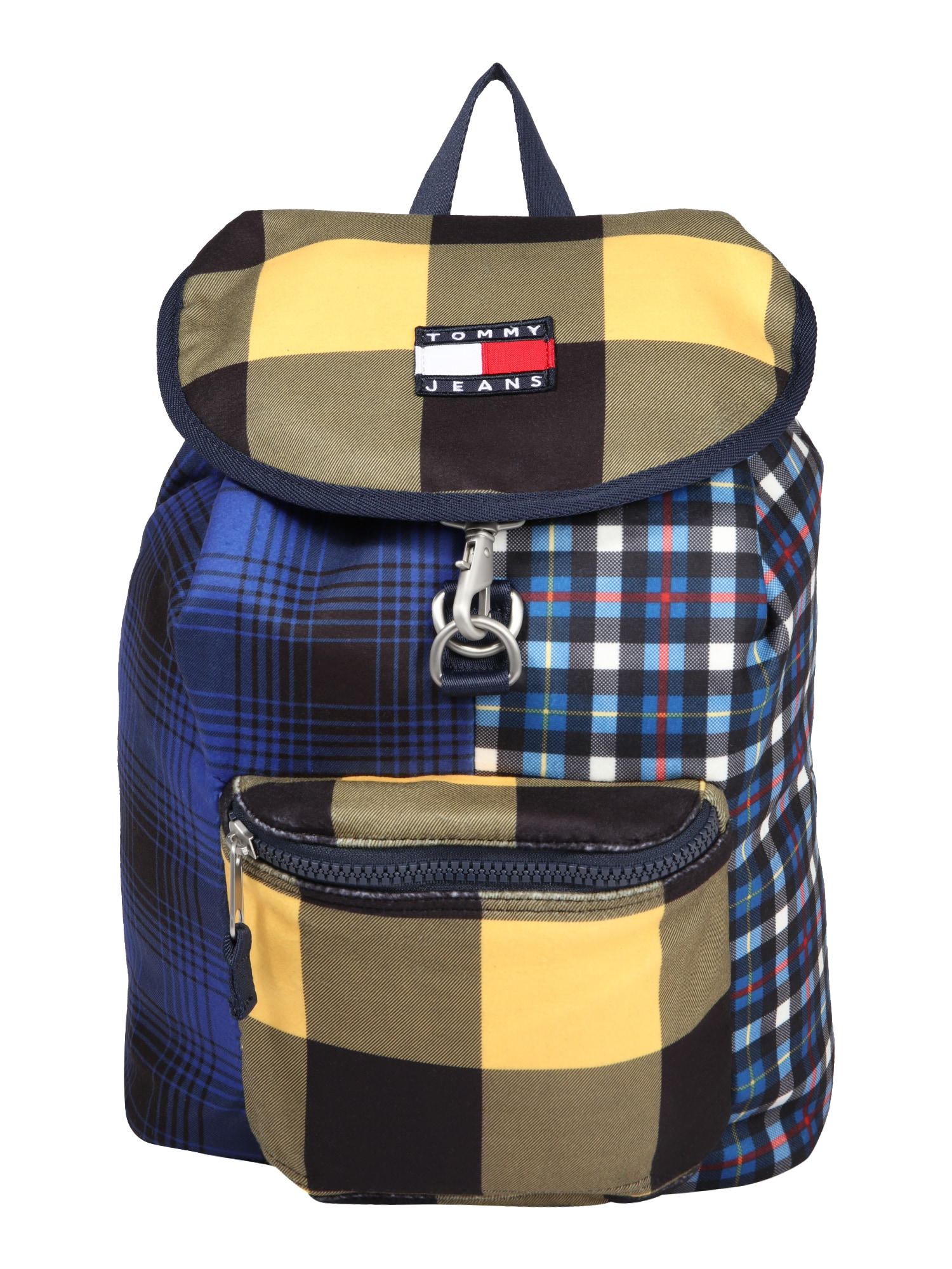 Tommy Jeans Batoh 'HERITAGE'  žlutá / tmavě modrá / bílá / červená
