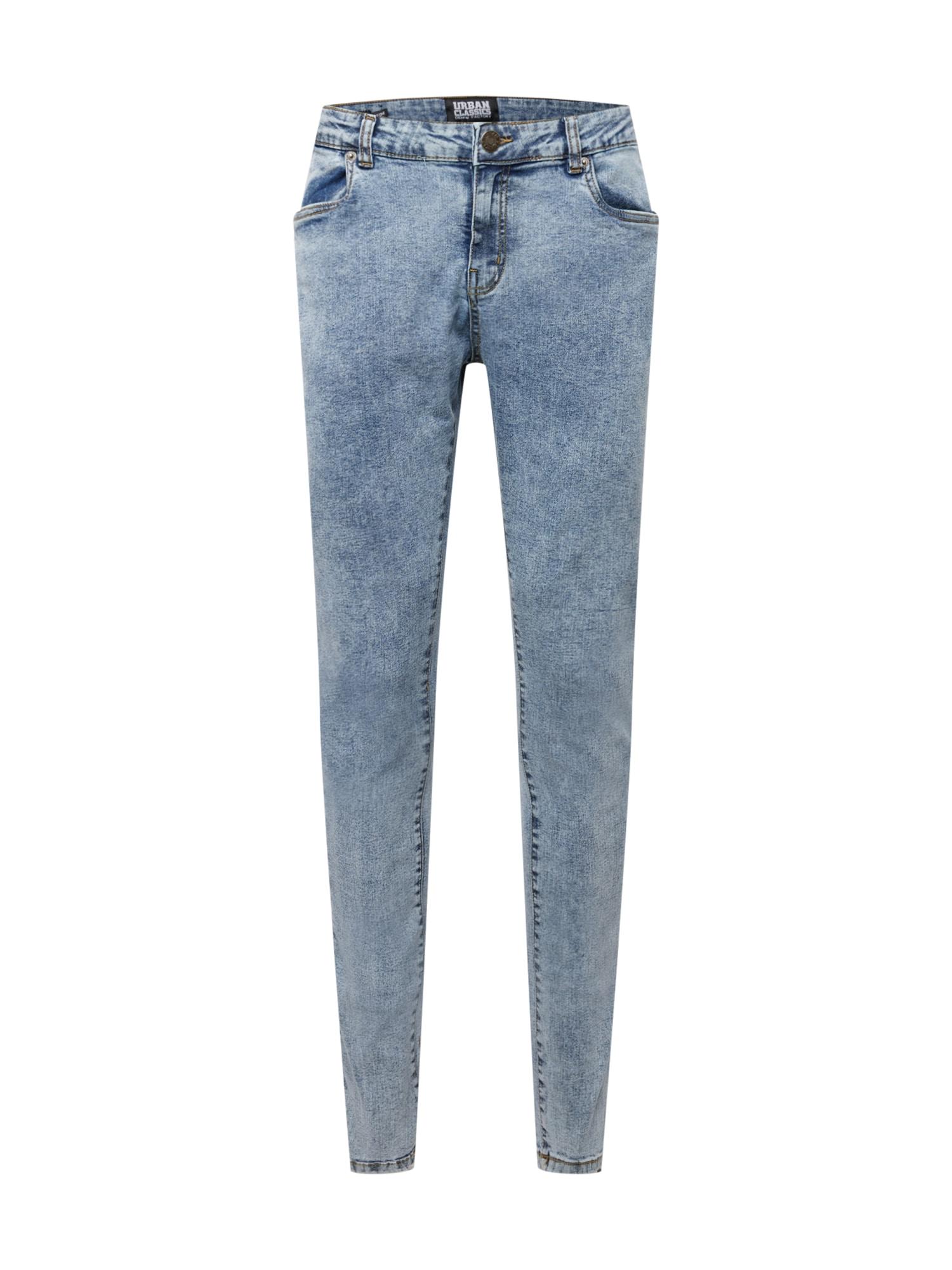Urban Classics Plus Size Džinsai tamsiai (džinso) mėlyna