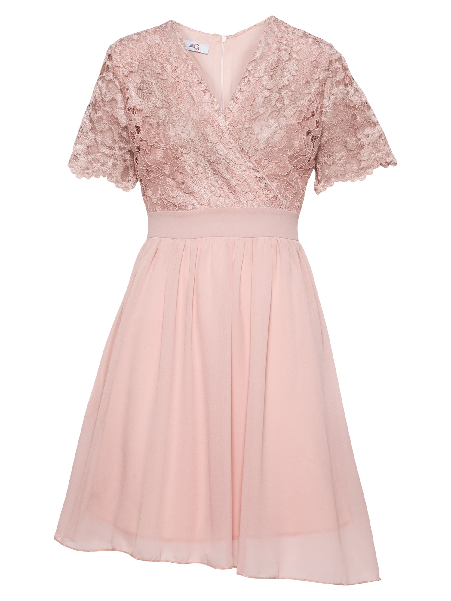 WAL G. Kokteilinė suknelė šviesiai rožinė