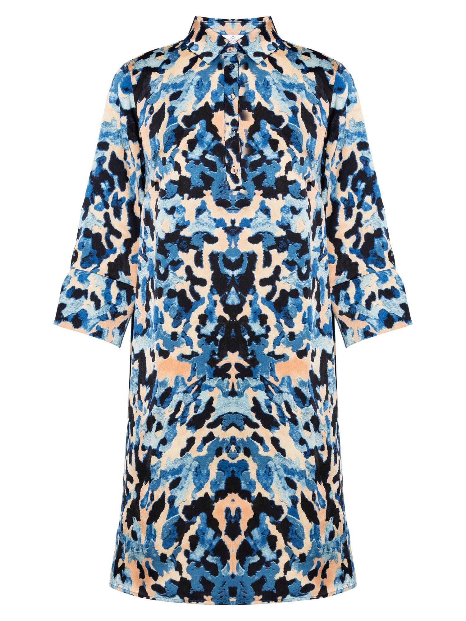 Love & Divine Palaidinės tipo suknelė mėlyna / šviesiai mėlyna / kremo / juoda
