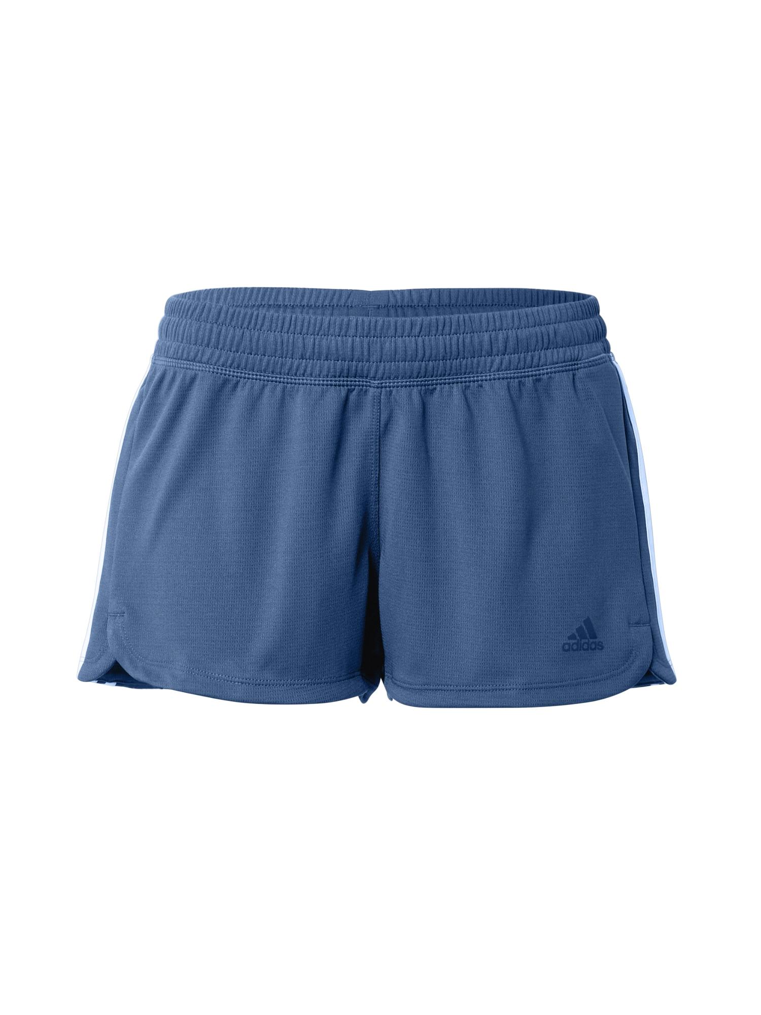 ADIDAS PERFORMANCE Sportovní kalhoty 'PACER'  modrá / bílá