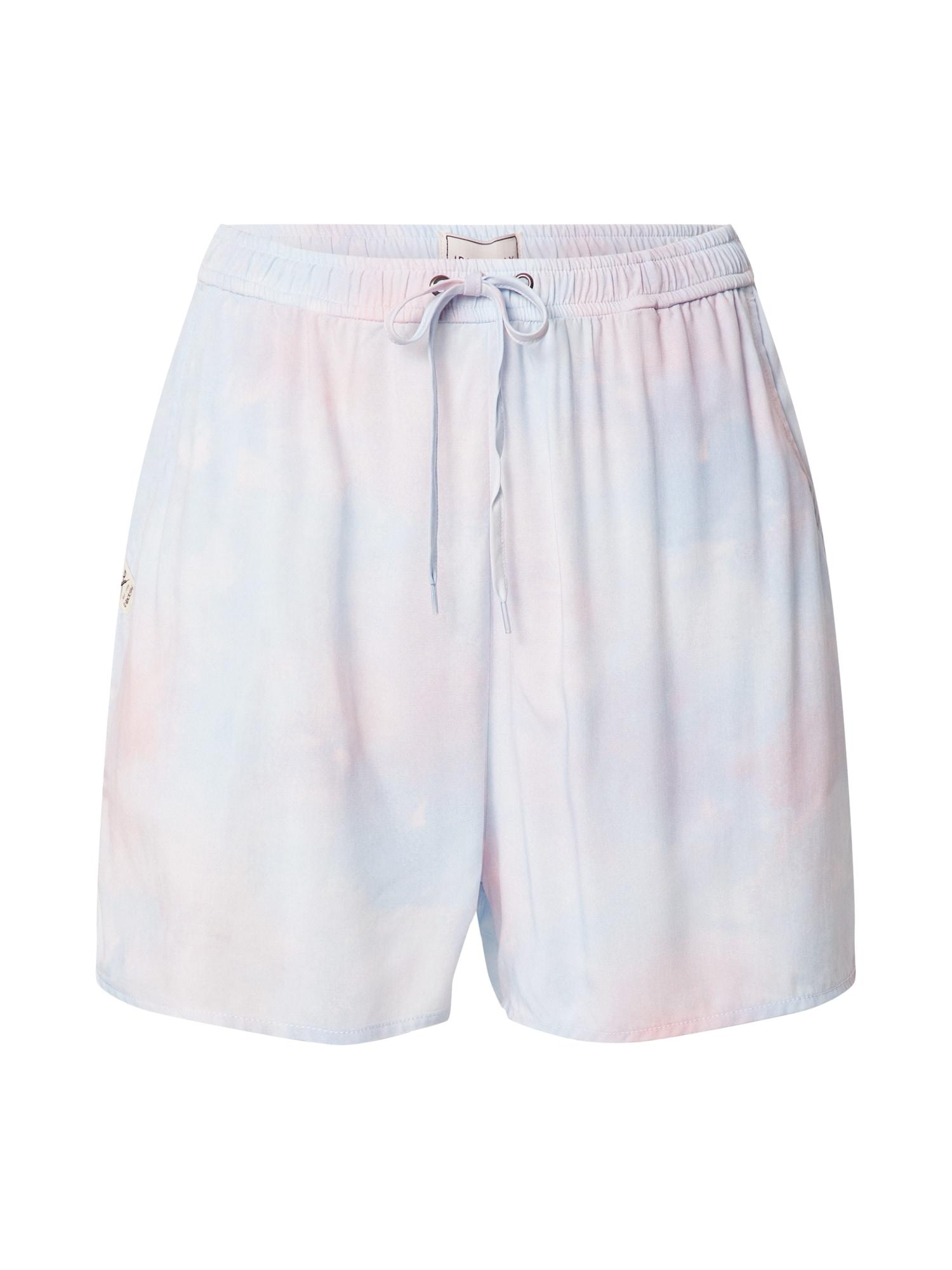 Iriedaily Kelnės ryškiai rožinė spalva / mėlyna