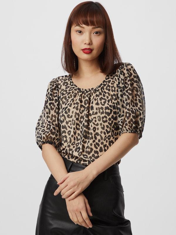 Selected Femme Tilda Half Sleeves Printed Top
