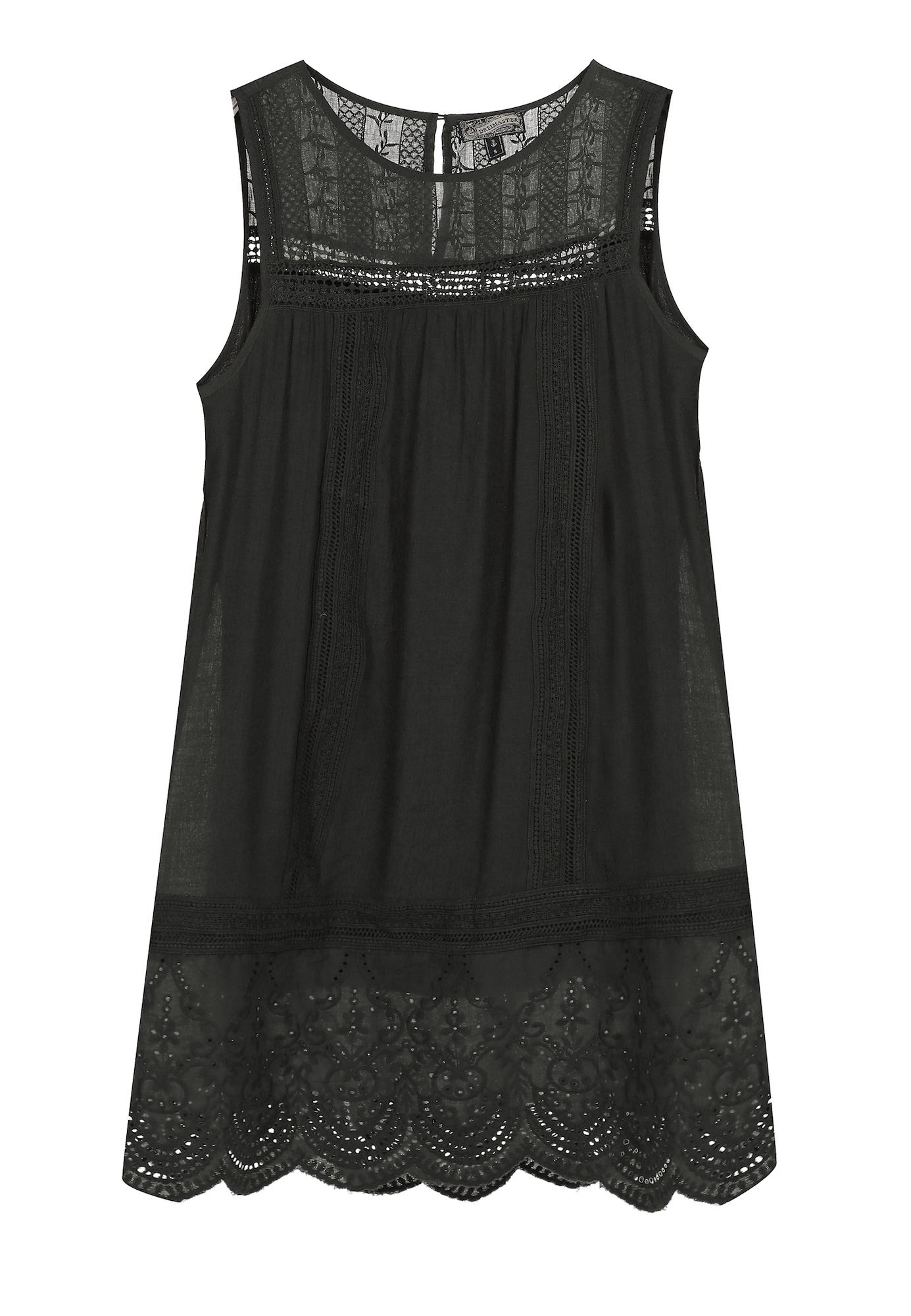 DreiMaster Vintage Vasarinė suknelė antracito