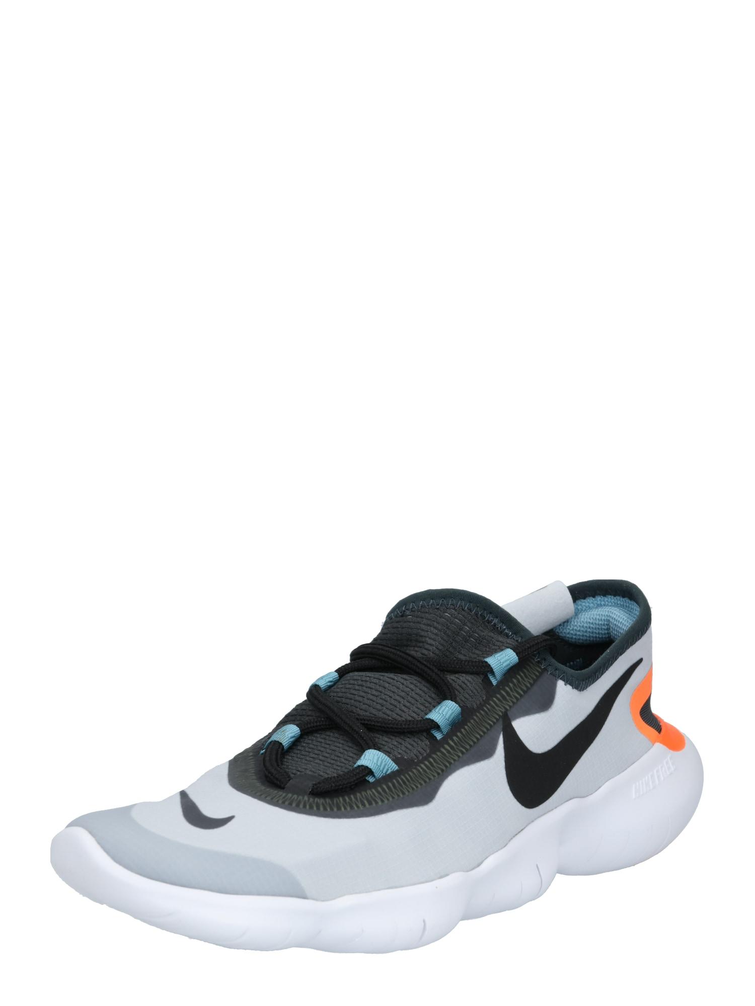 NIKE Běžecká obuv 'Free Run 5.0'  tmavě šedá / mix barev / černá / světle šedá / šedá