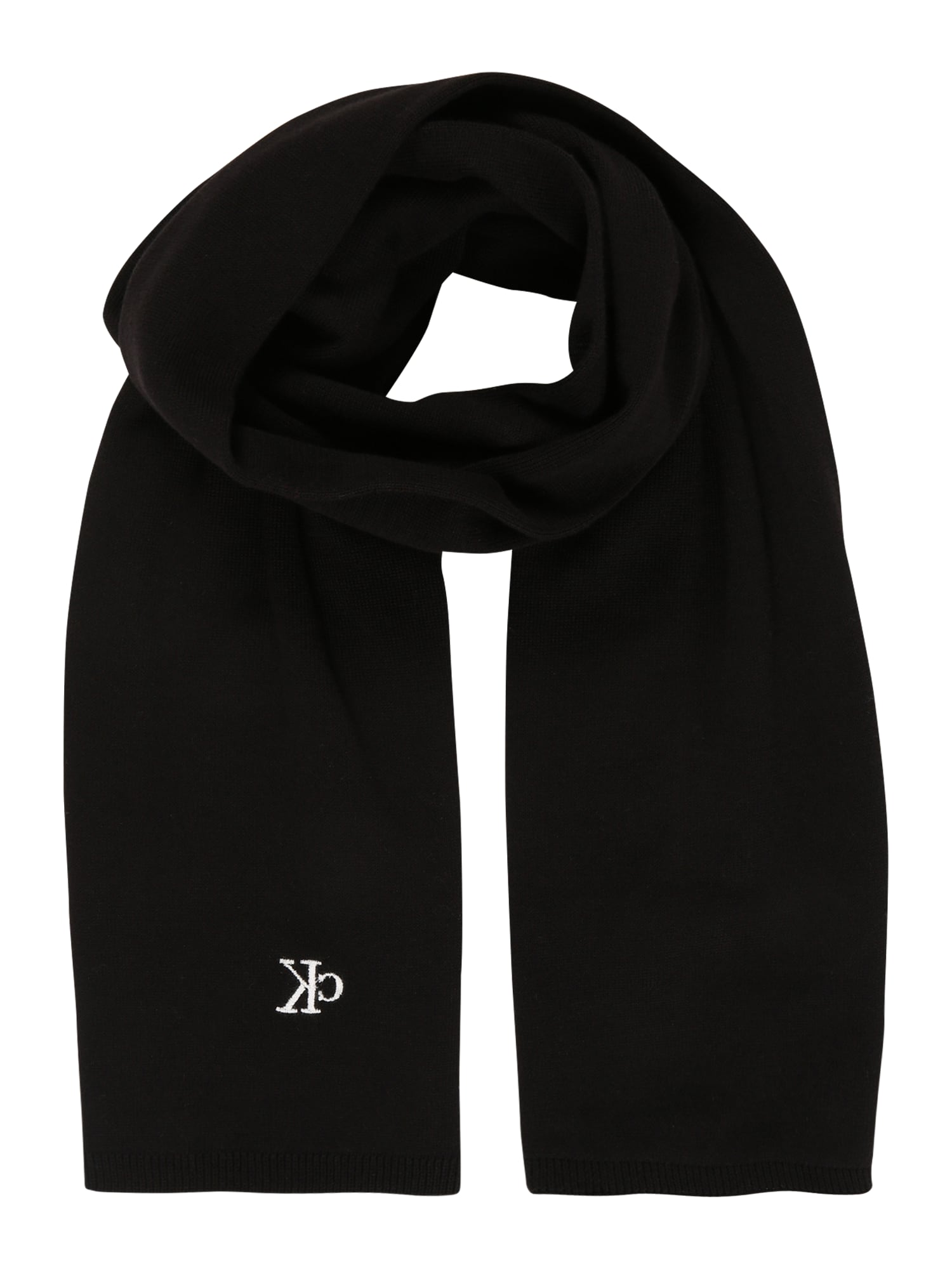 Calvin Klein Jeans Šalikas juoda / balta
