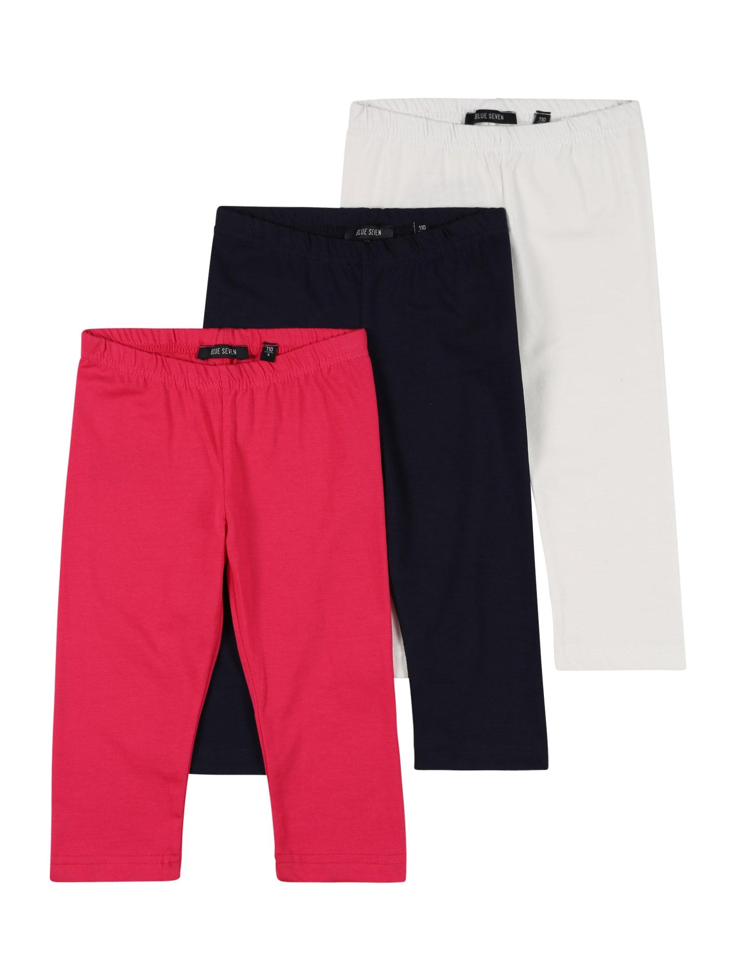 BLUE SEVEN Kelnės balta / raudona / ultramarino mėlyna (skaidri)
