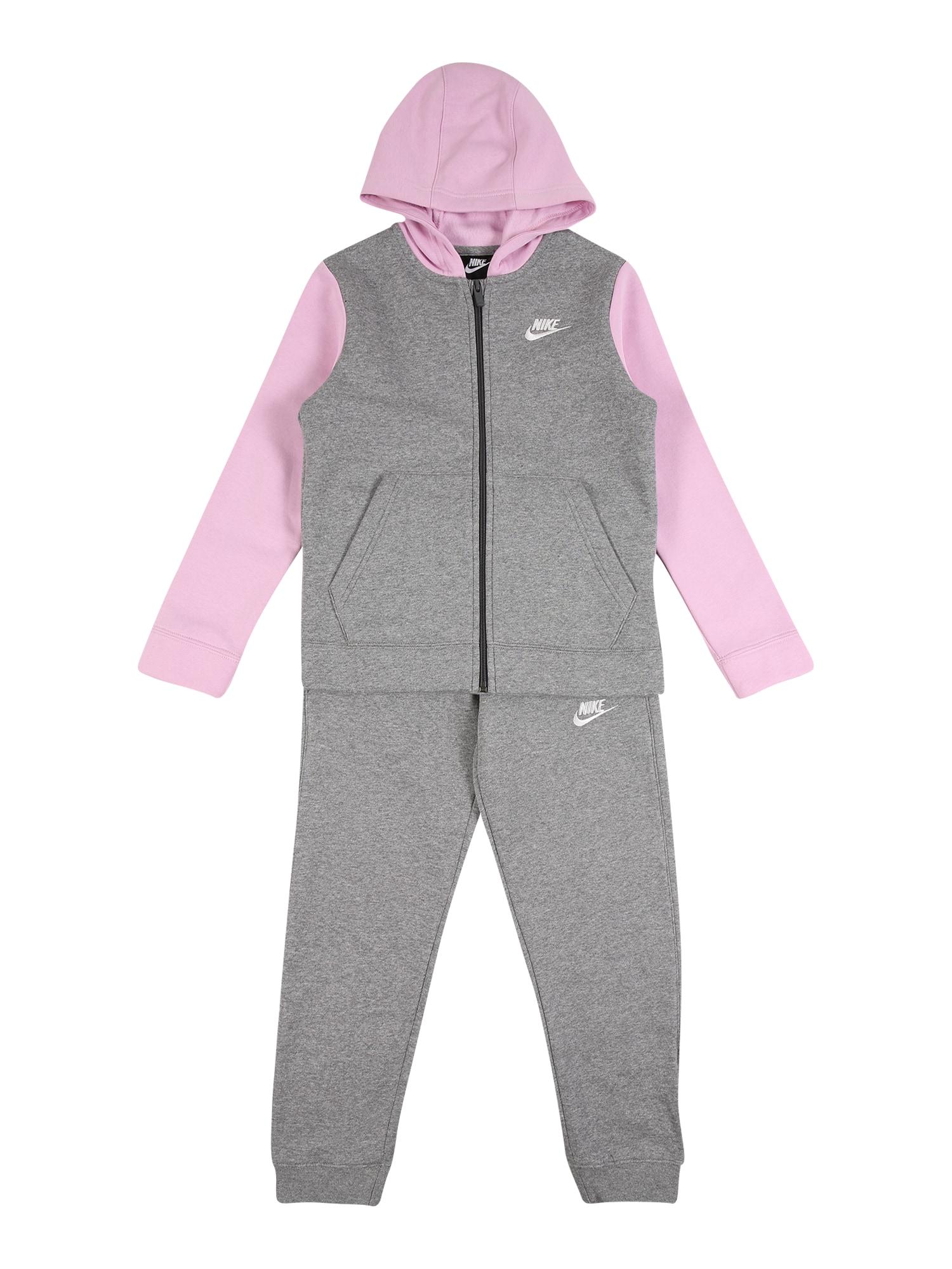Nike Sportswear Treningas rožių spalva / pilka