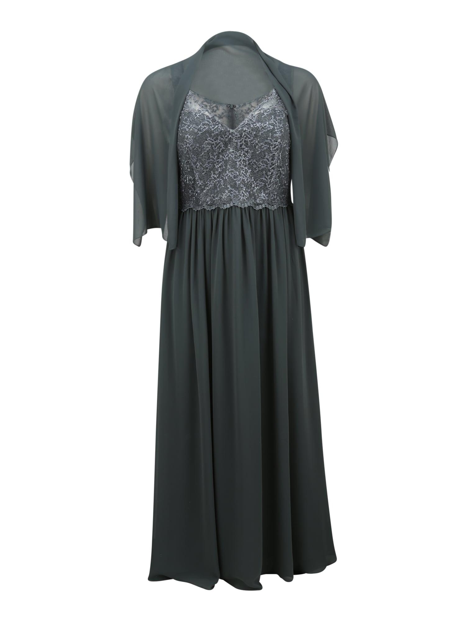 My Mascara Curves Vakarinė suknelė tamsiai žalia