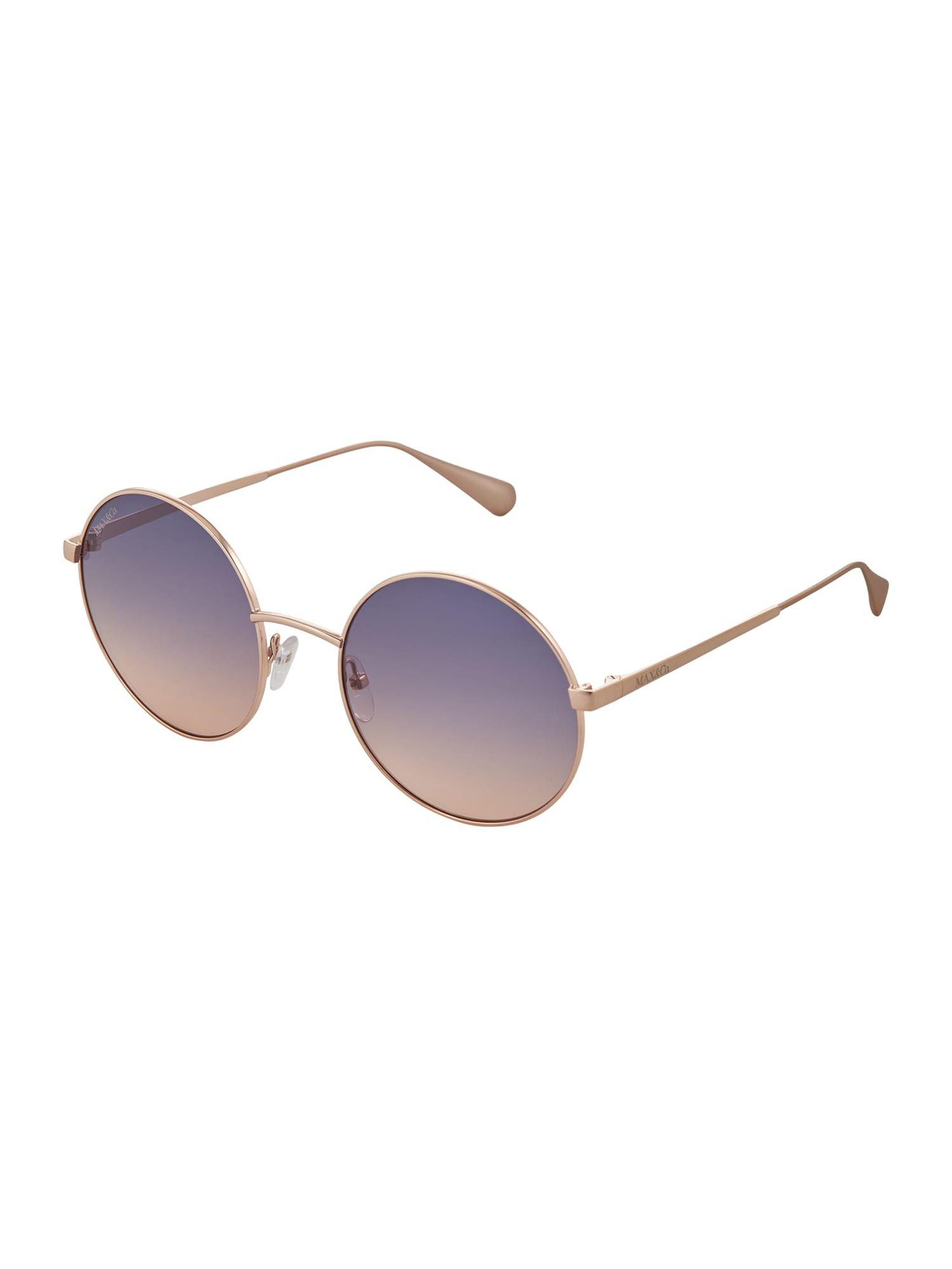 MAX&Co. Akiniai nuo saulės auksas / pastelinė violetinė