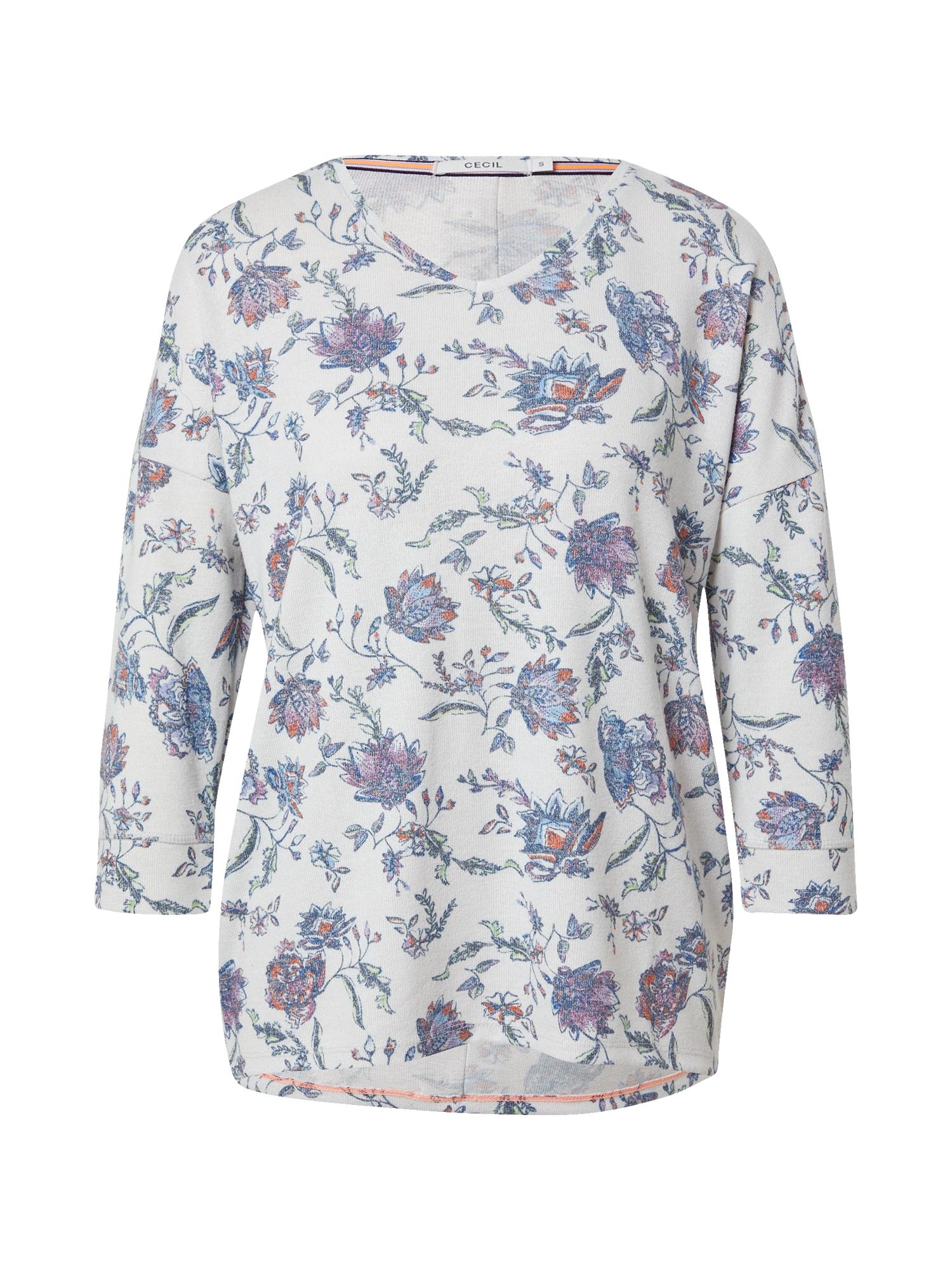 CECIL Marškinėliai mišrios spalvos / balkšva