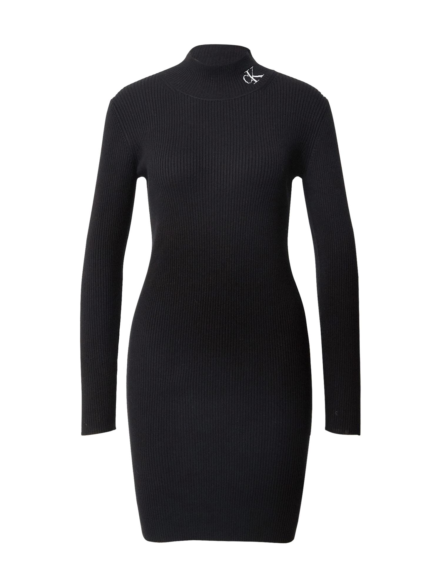 Calvin Klein Jeans Šaty  černá
