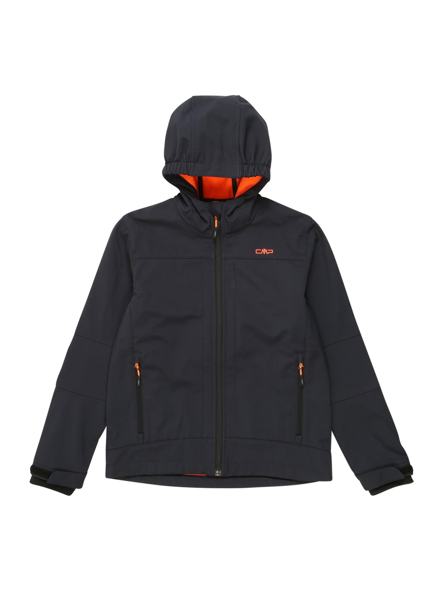 CMP Outdoorová bunda  antracitová / oranžová