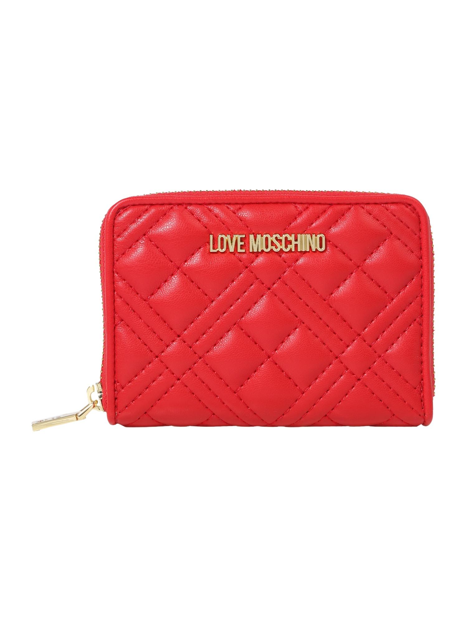 Love Moschino Piniginė raudona