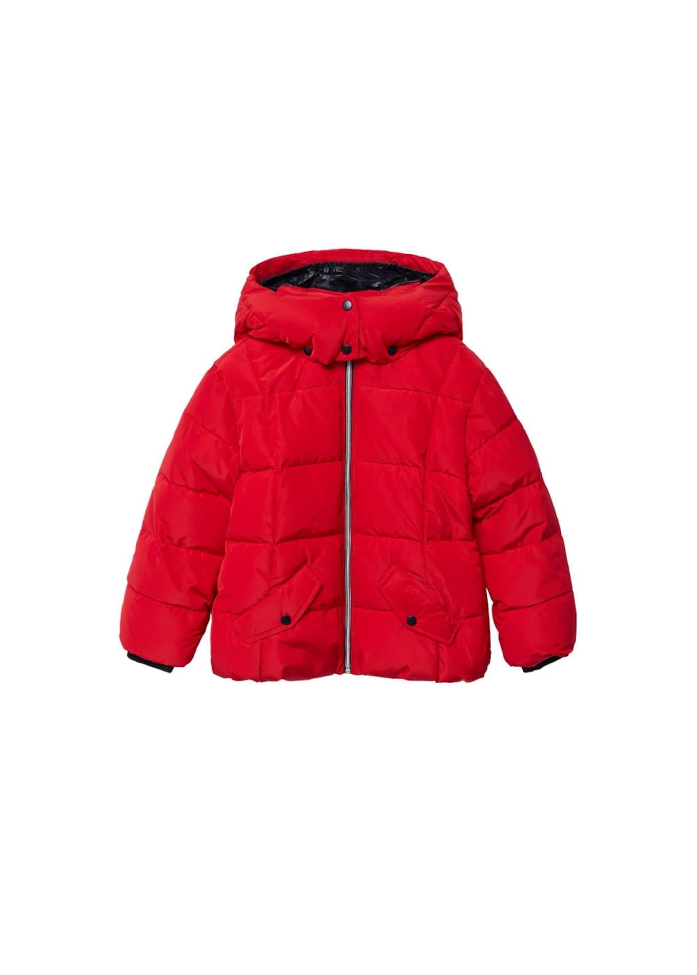 MANGO KIDS Kabát 'Laurie'  červená