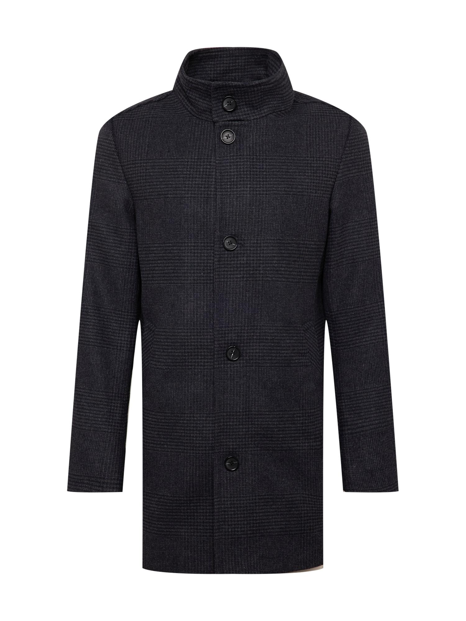 TOM TAILOR Přechodný kabát  antracitová