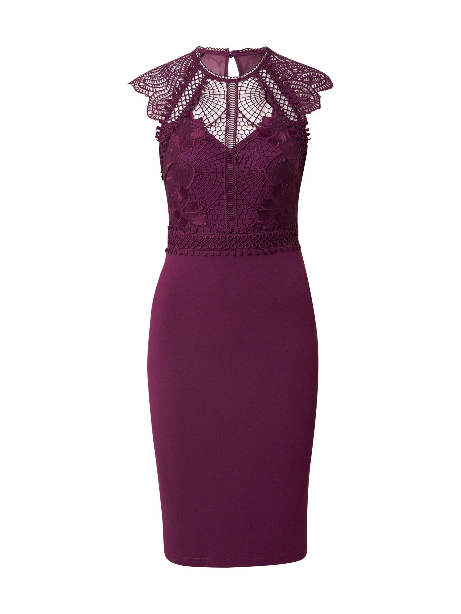 Lipsy Kokteilinė suknelė purpurinė