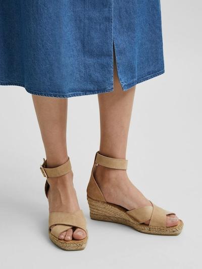 Sandały z rzemykami 'SLFESTHER'