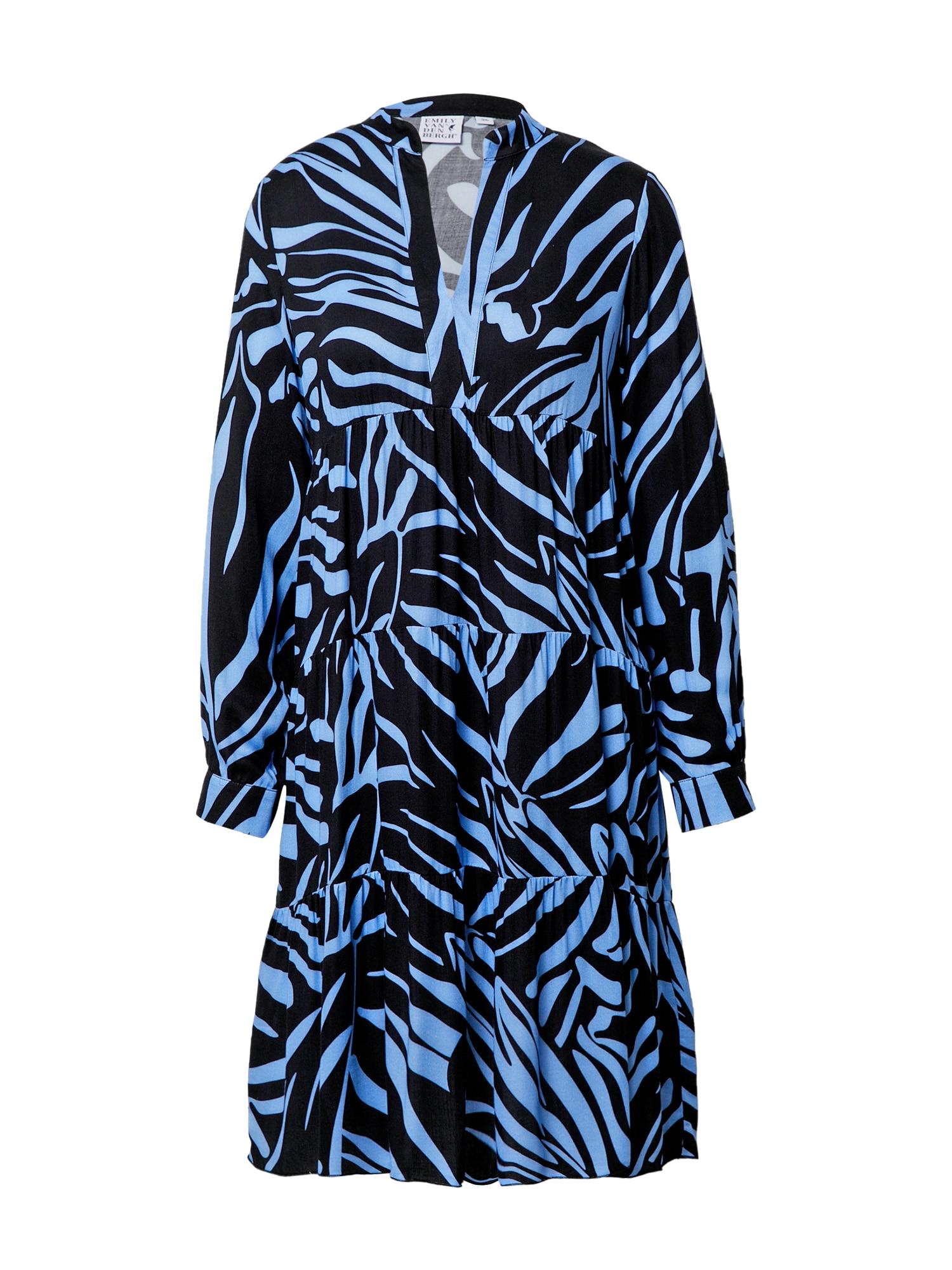 Emily Van Den Bergh Suknelė tamsiai mėlyna / šviesiai mėlyna