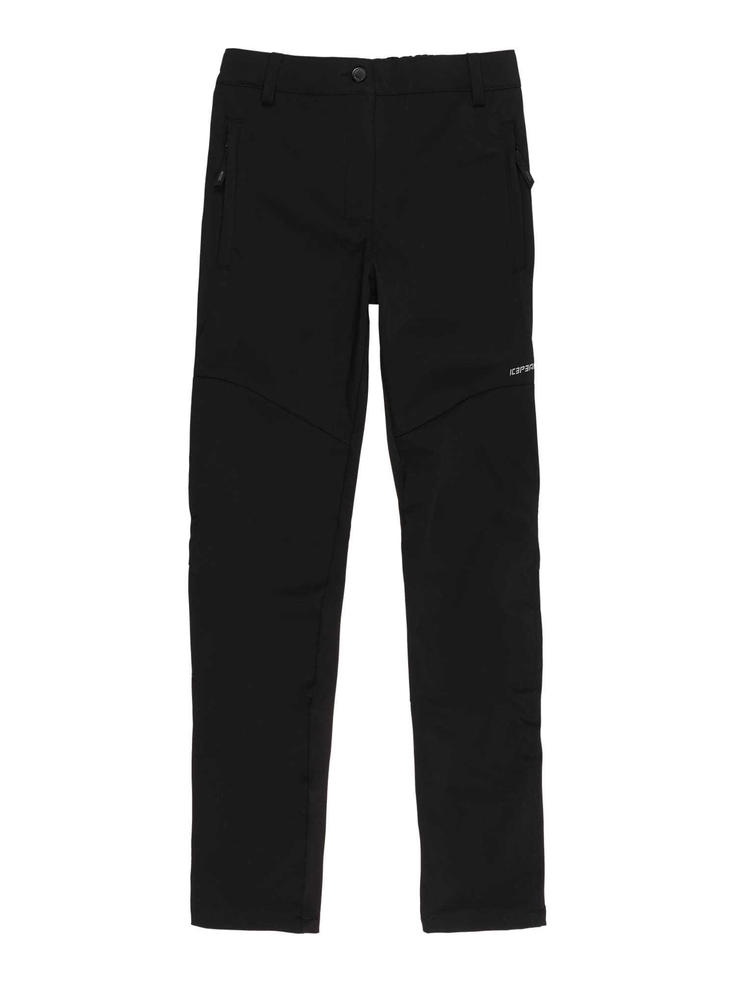ICEPEAK Sportovní kalhoty 'KAHALUU'  černá