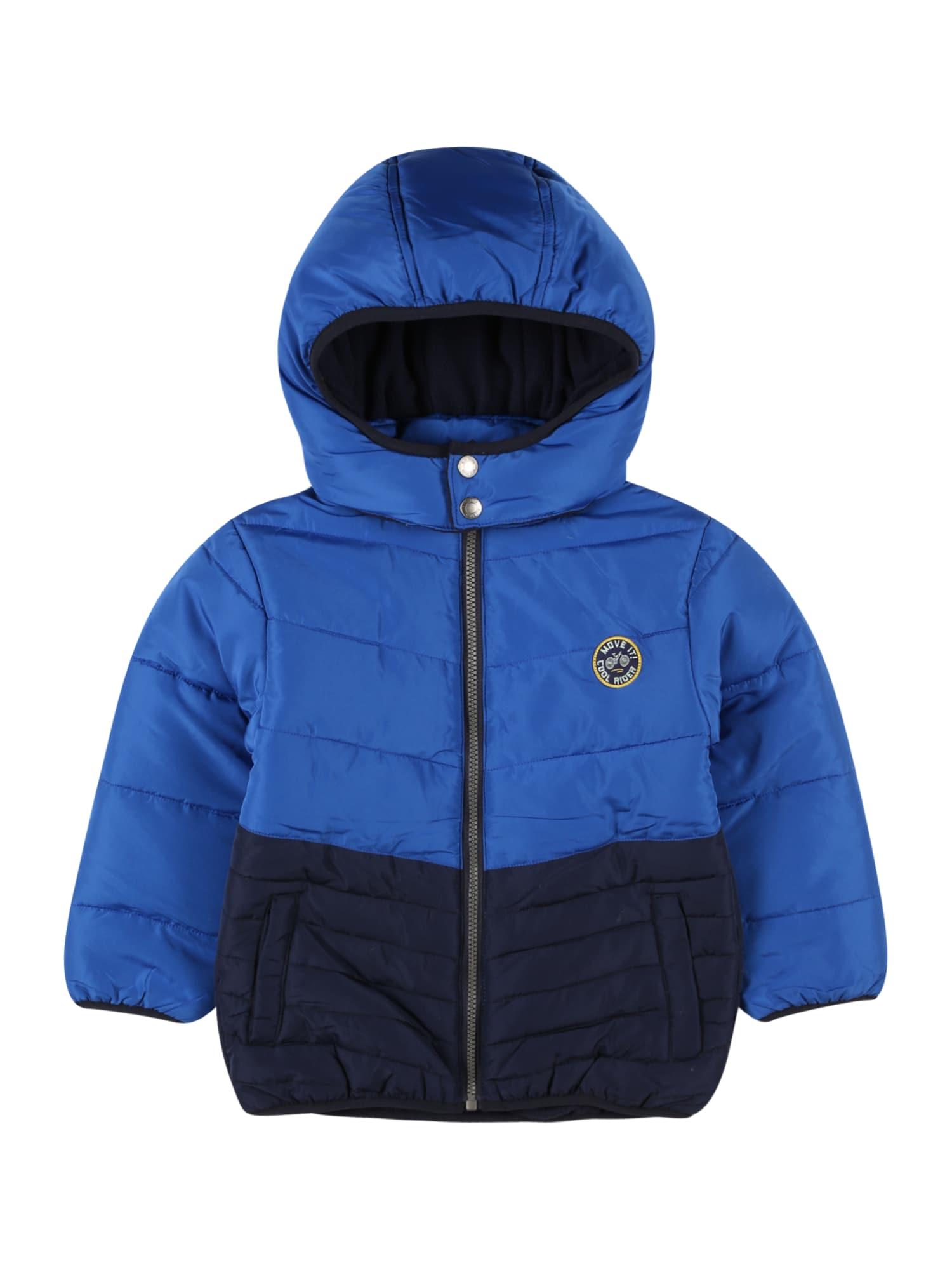 BLUE SEVEN Přechodná bunda  modrá / marine modrá / žlutá / šedá / bílá
