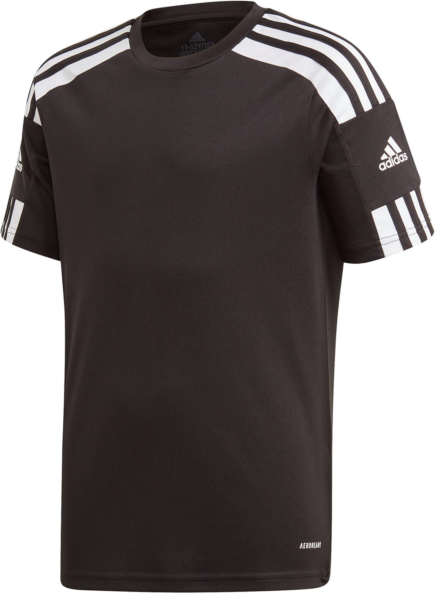 ADIDAS PERFORMANCE Sportiniai marškinėliai 'Squadra 21' juoda / balta