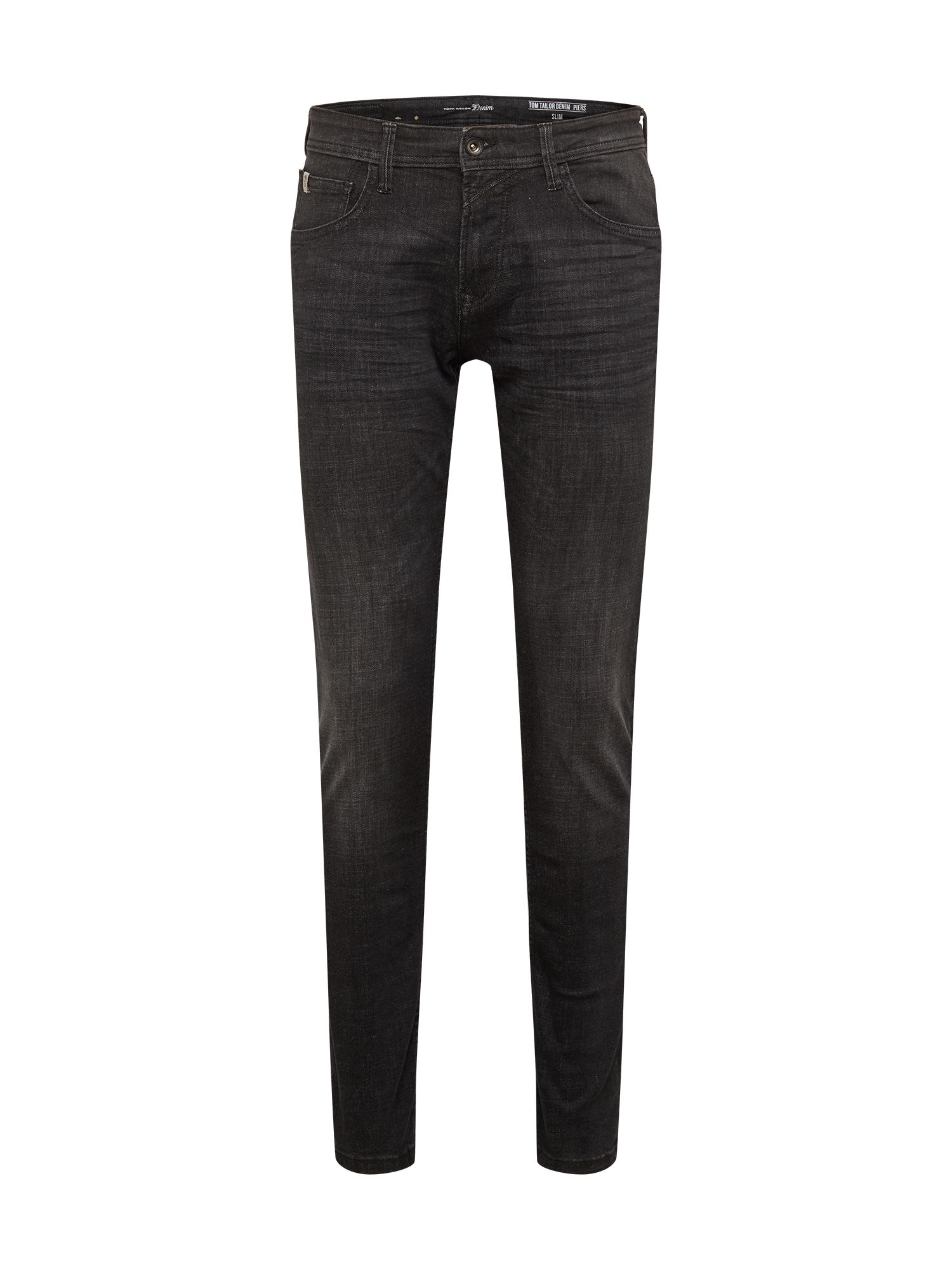 TOM TAILOR DENIM Džinsai juodo džinso spalva
