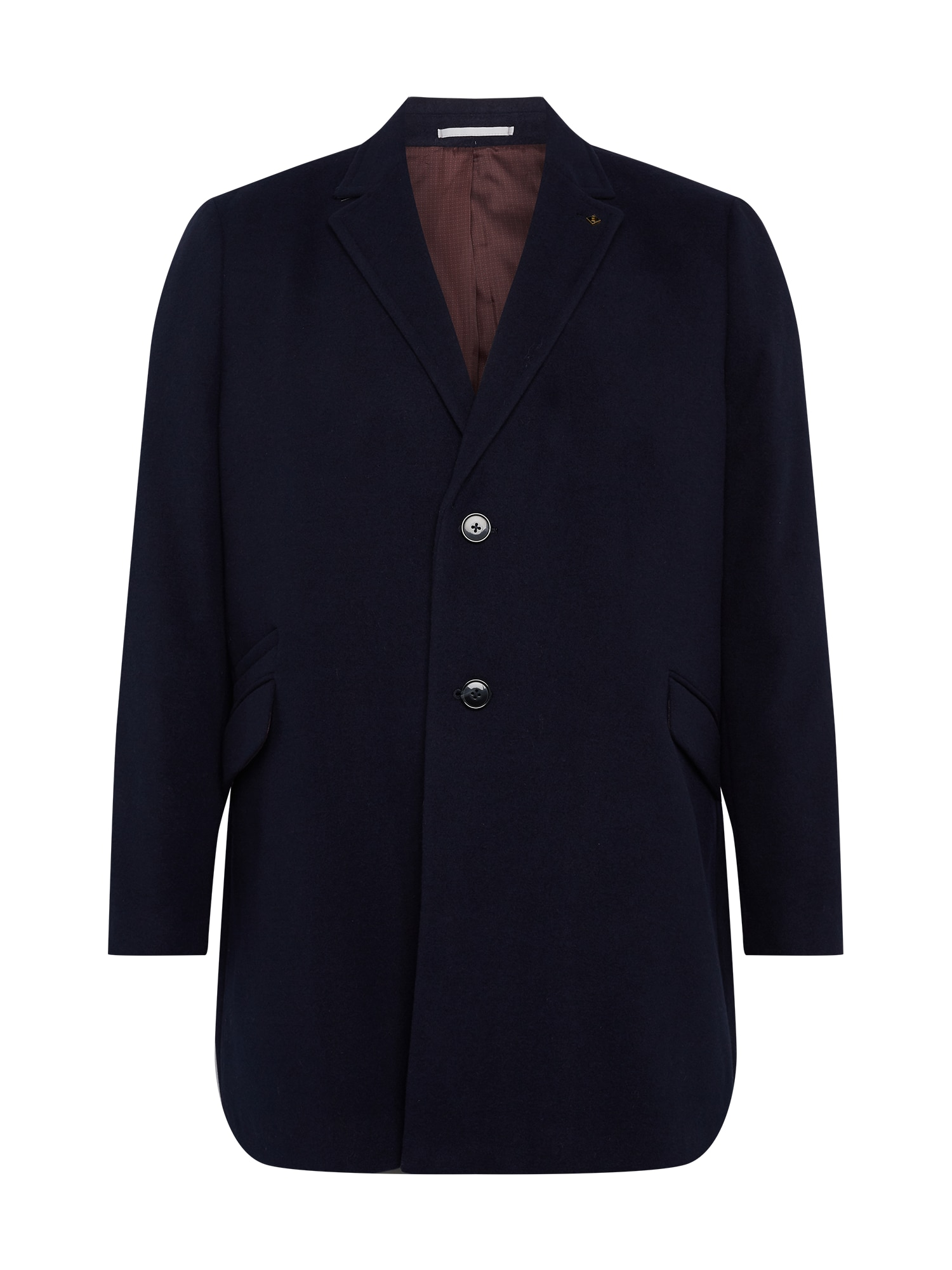 BURTON MENSWEAR LONDON (Big & Tall) Demisezoninis paltas tamsiai mėlyna