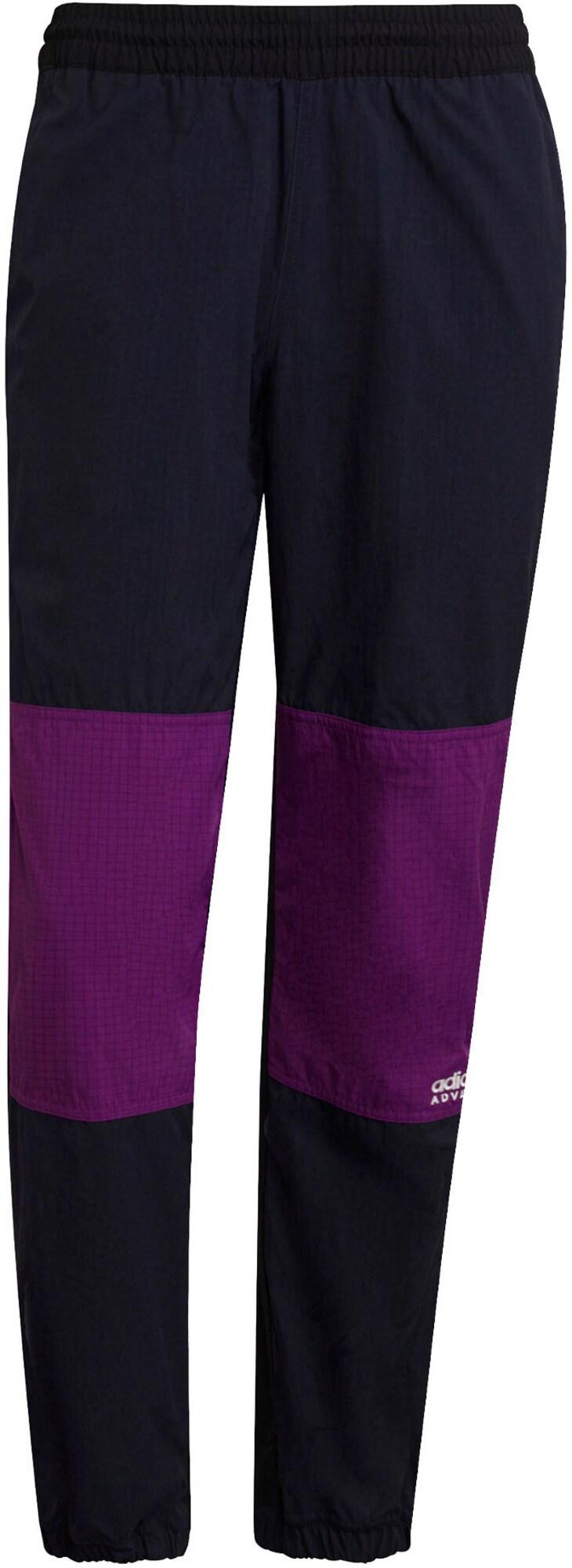 ADIDAS ORIGINALS Kalhoty 'Adventure'  marine modrá / fialová